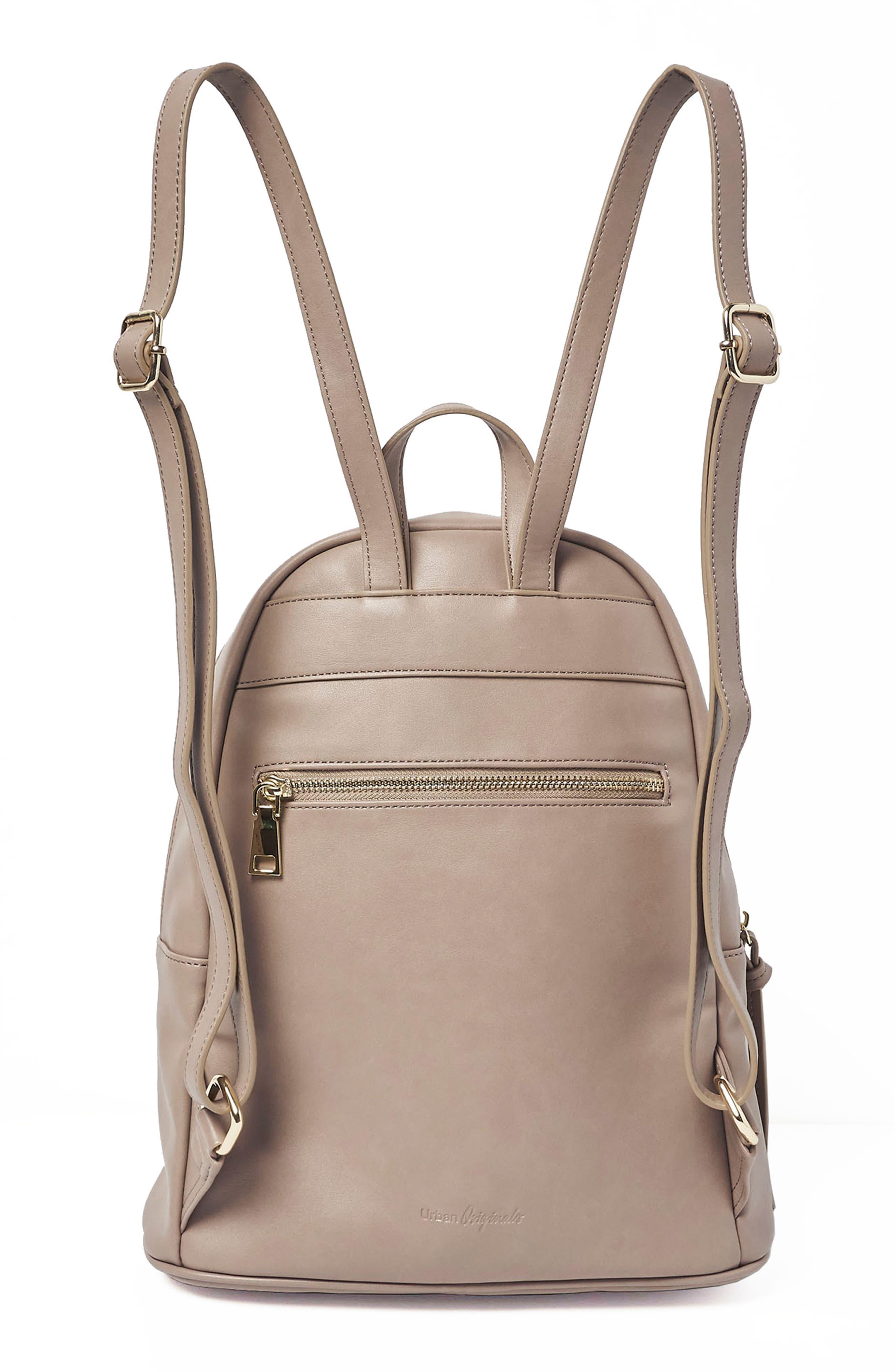 Sublime Vegan Leather Backpack,                             Alternate thumbnail 5, color,