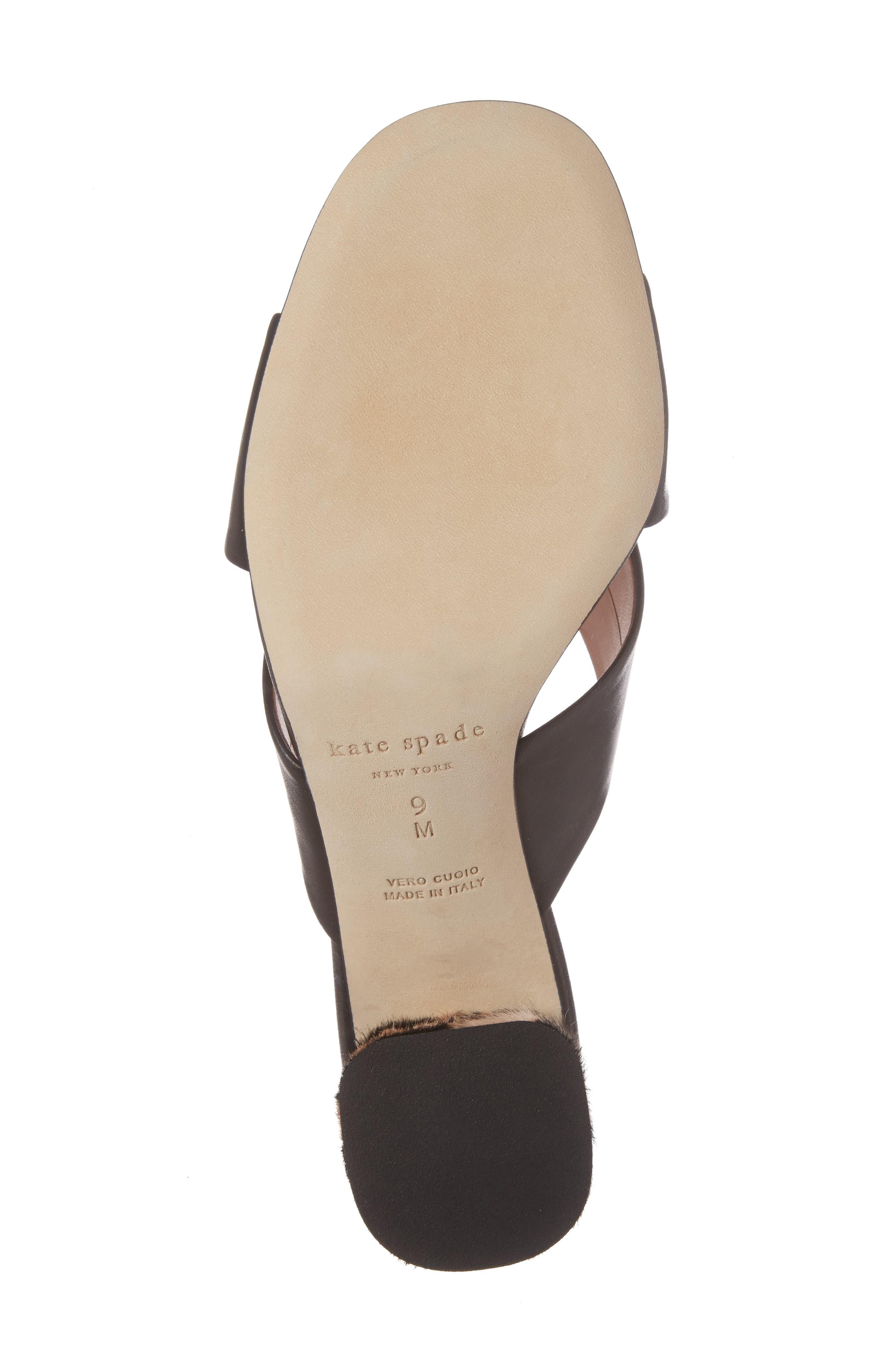 denault slide sandal,                             Alternate thumbnail 6, color,                             001