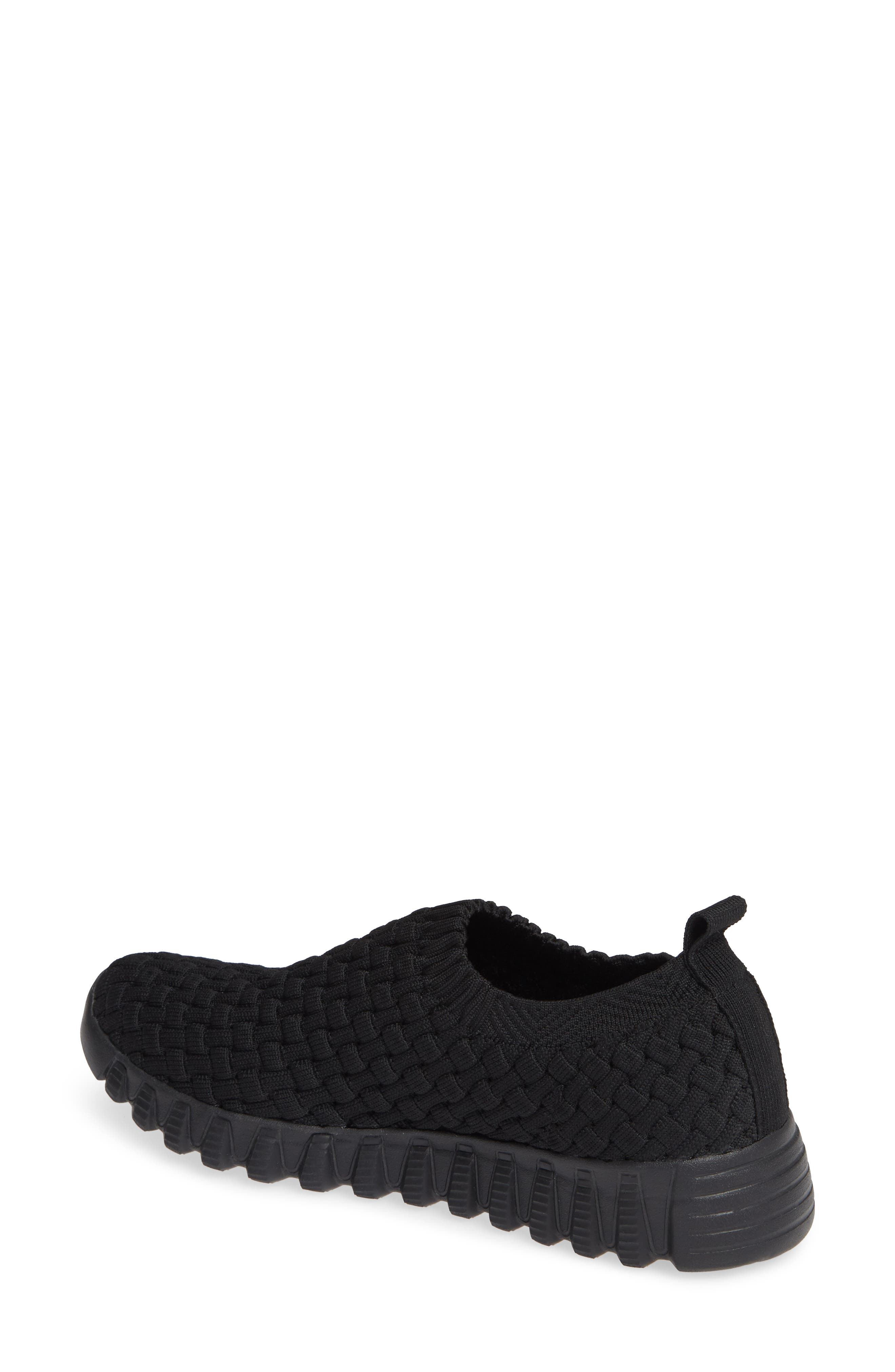 Tender Slip-On Sneaker,                             Alternate thumbnail 2, color,                             BLACK FABRIC