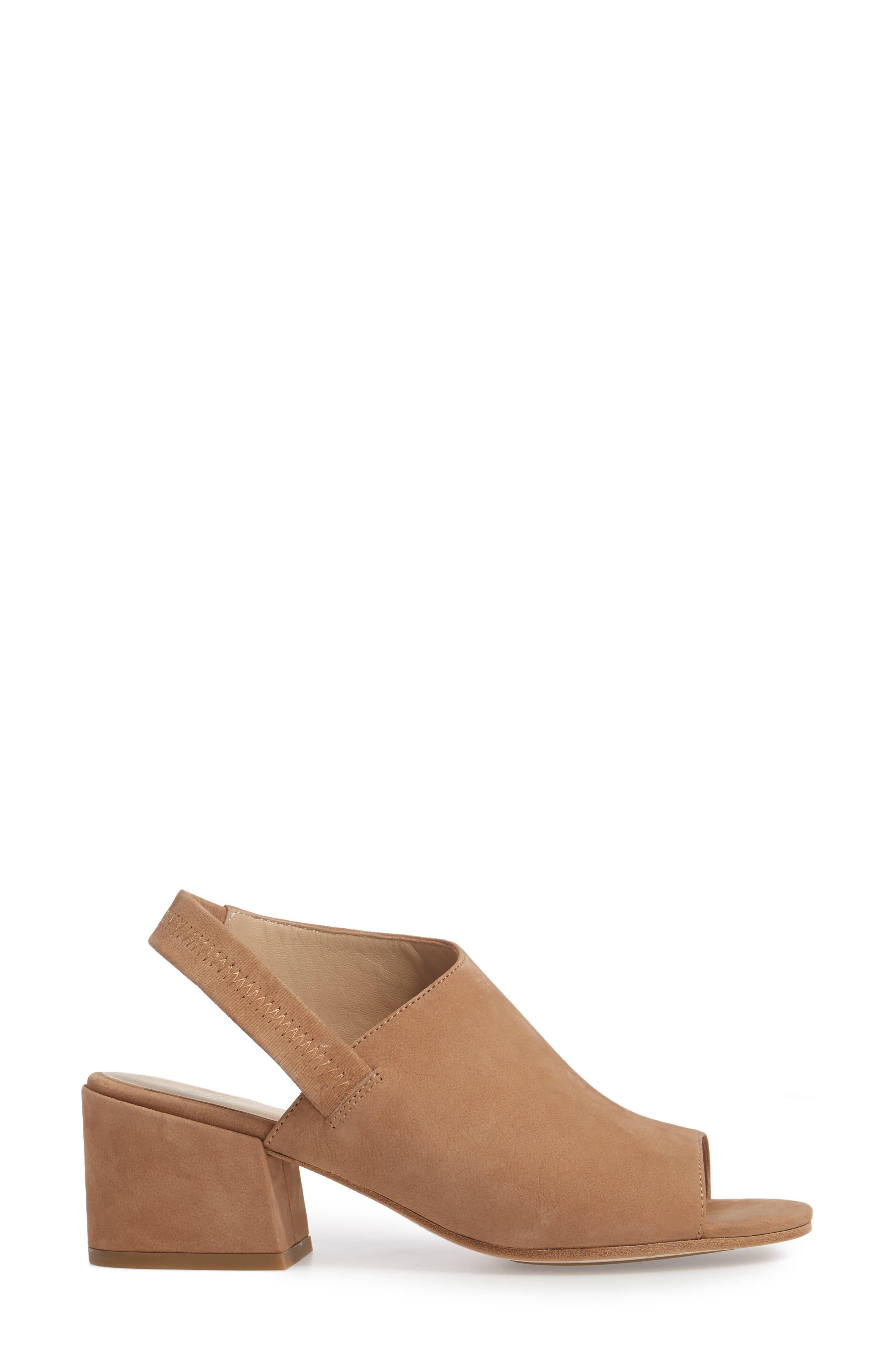Leigh Asymmetrical Slingback Sandal,                             Alternate thumbnail 8, color,