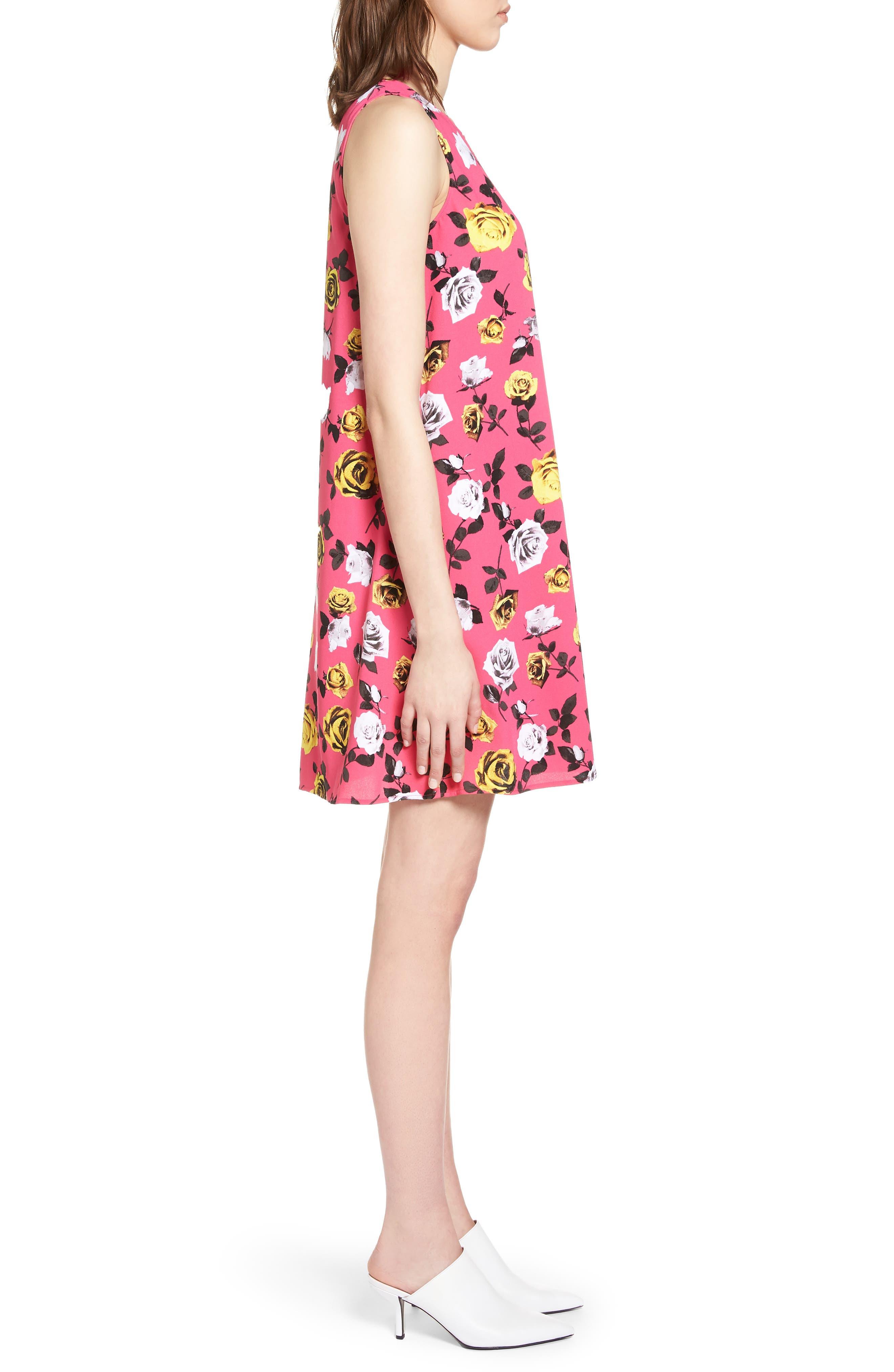 A-Line Dress,                             Alternate thumbnail 70, color,