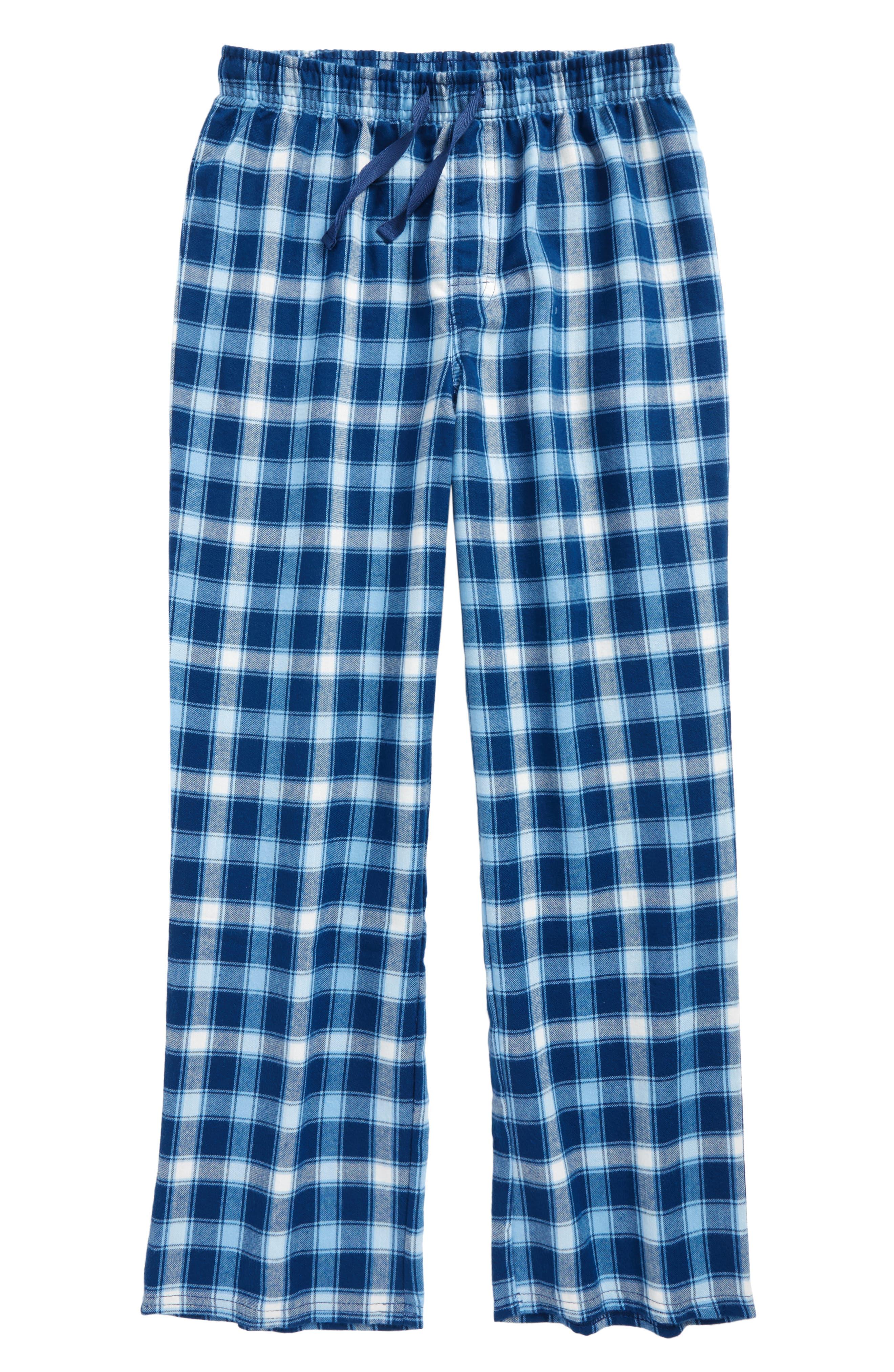 Plaid Flannel Pants,                             Main thumbnail 4, color,