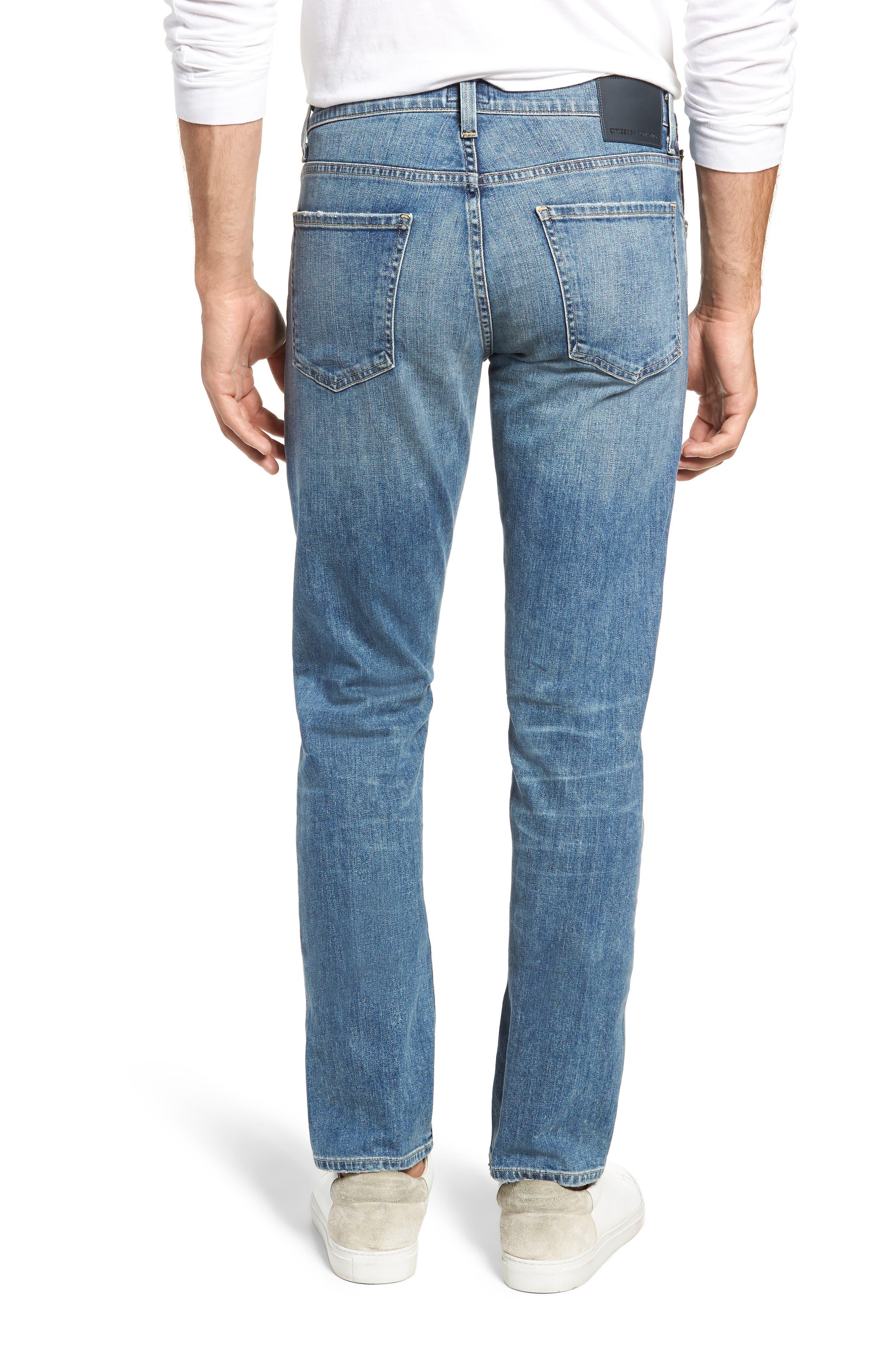 Bowery Slim Fit Jeans,                             Alternate thumbnail 2, color,                             ALAND