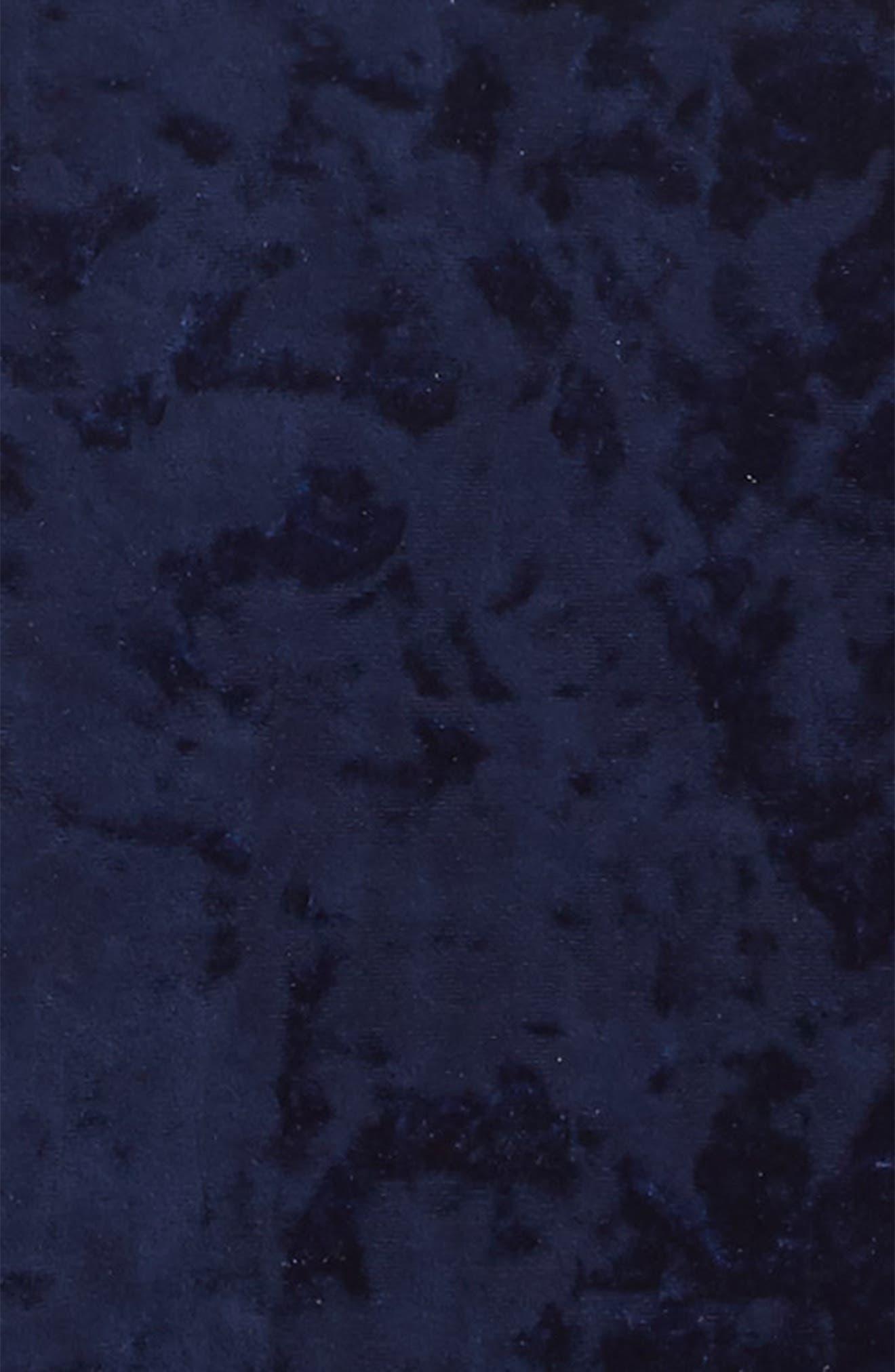 Velvet Dress,                             Alternate thumbnail 3, color,                             431