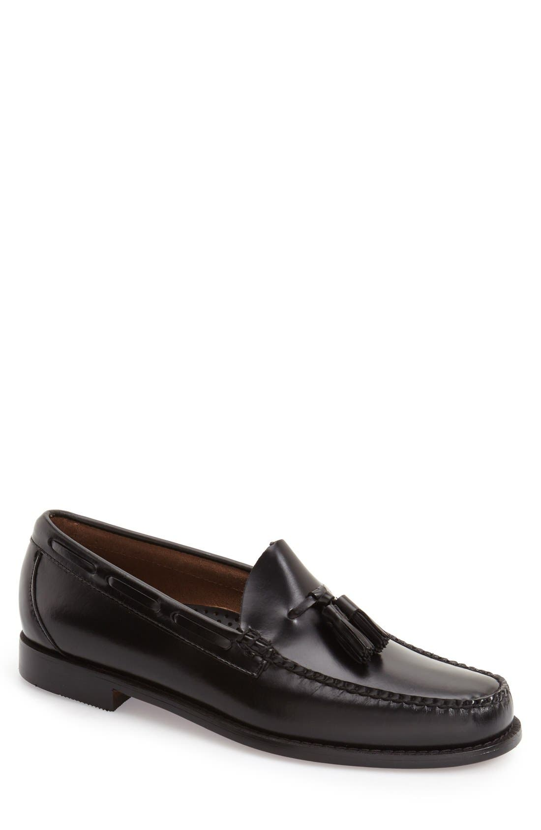 G.H. BASS & CO. 'Lexington - Weejuns' Tassel Loafer, Main, color, 001