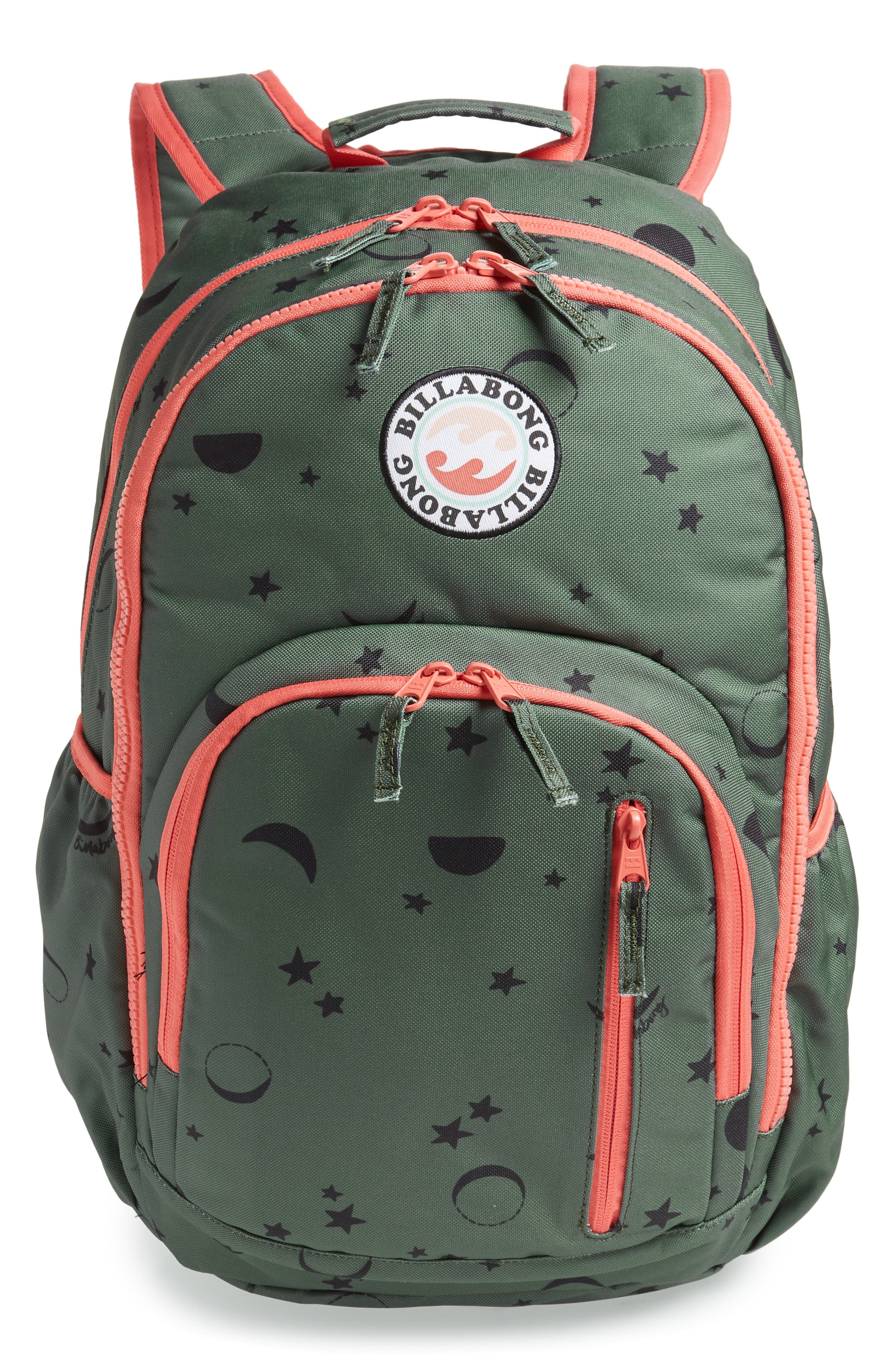 Roadie Jr. Water Resistant Backpack,                             Main thumbnail 1, color,                             310