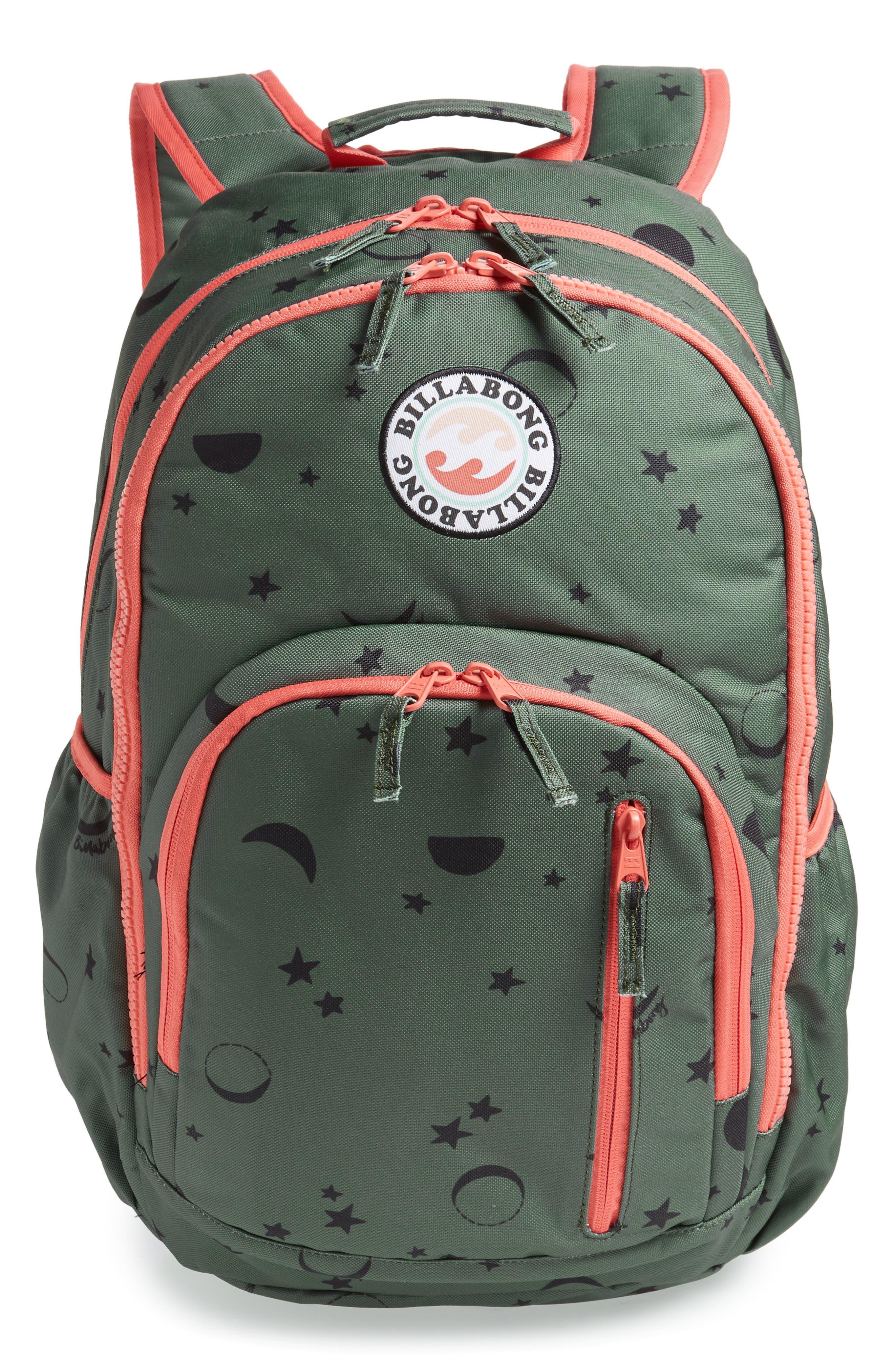 Roadie Jr. Water Resistant Backpack, Main, color, 310