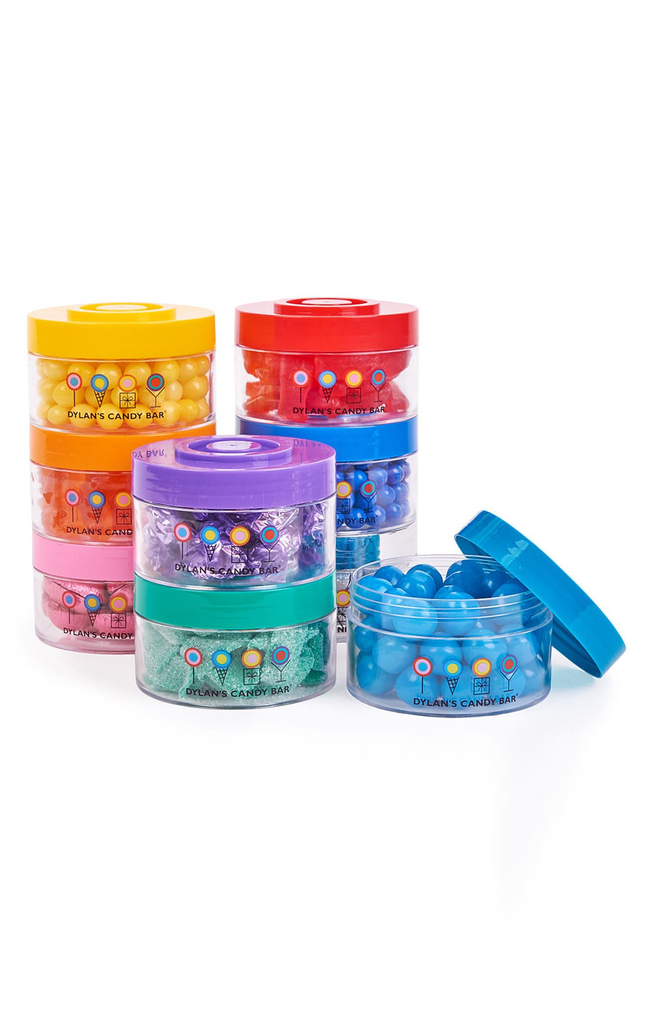 Stack-A-Round Deluxe 9-Pack Signature Gift Set,                             Alternate thumbnail 5, color,                             BLUE MULTI