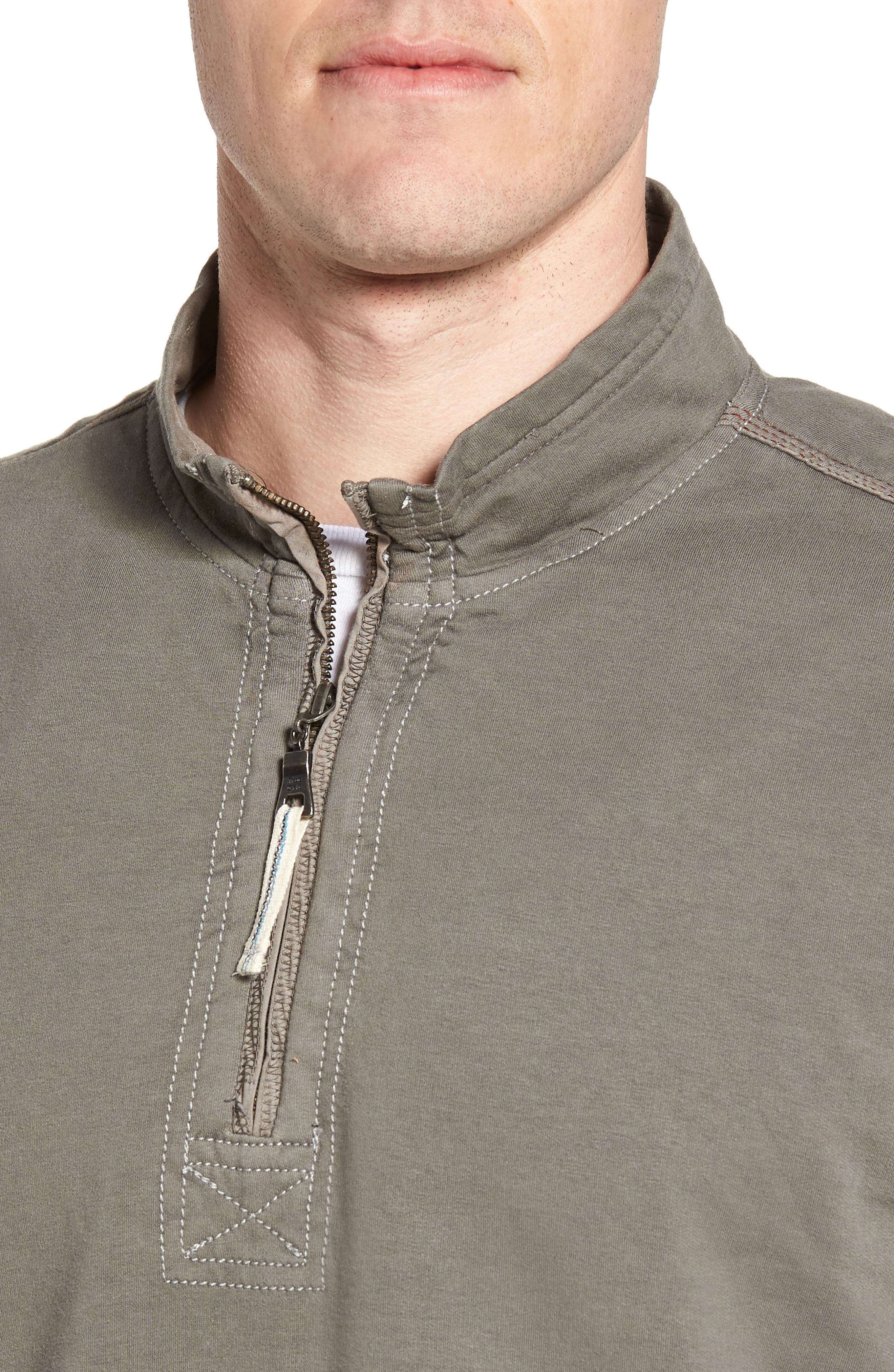 Quarter Zip Fleece Pullover,                             Alternate thumbnail 4, color,                             020