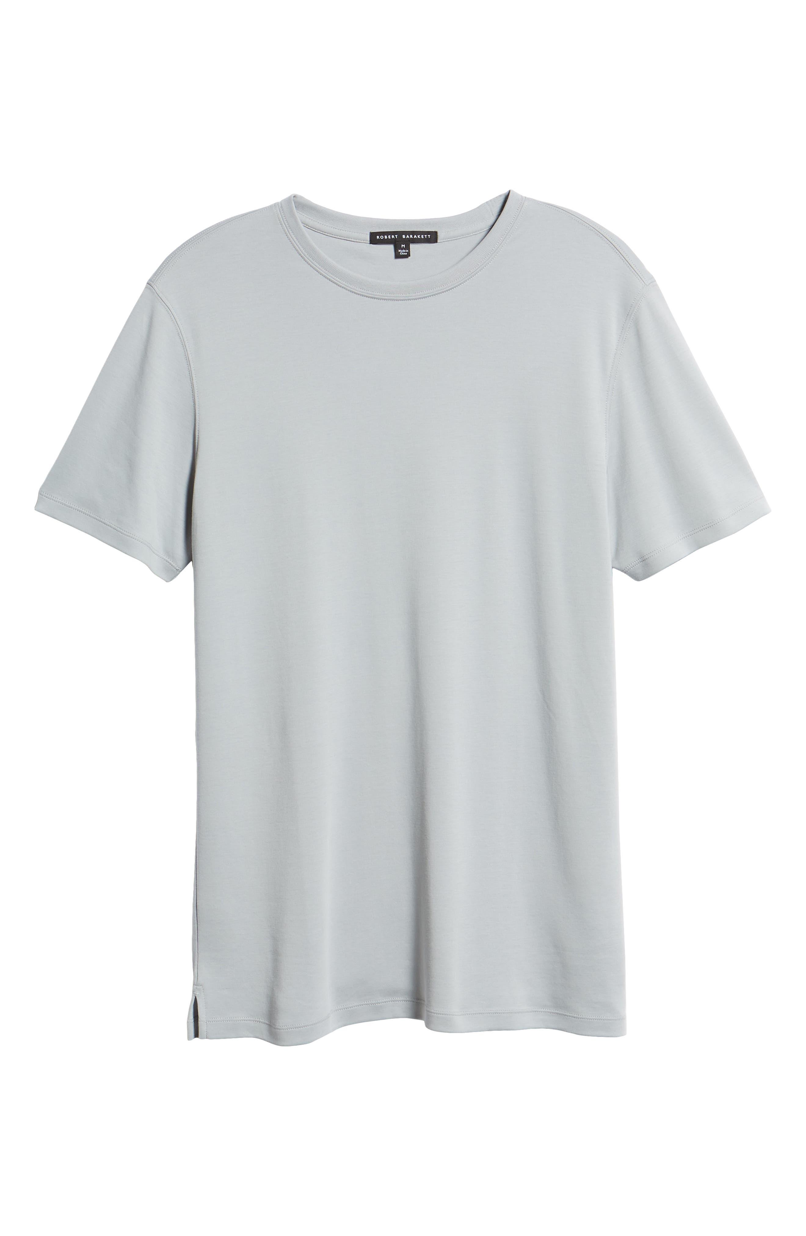 ROBERT BARAKETT,                             'Georgia' Crewneck T-Shirt,                             Alternate thumbnail 6, color,                             MOON DUST
