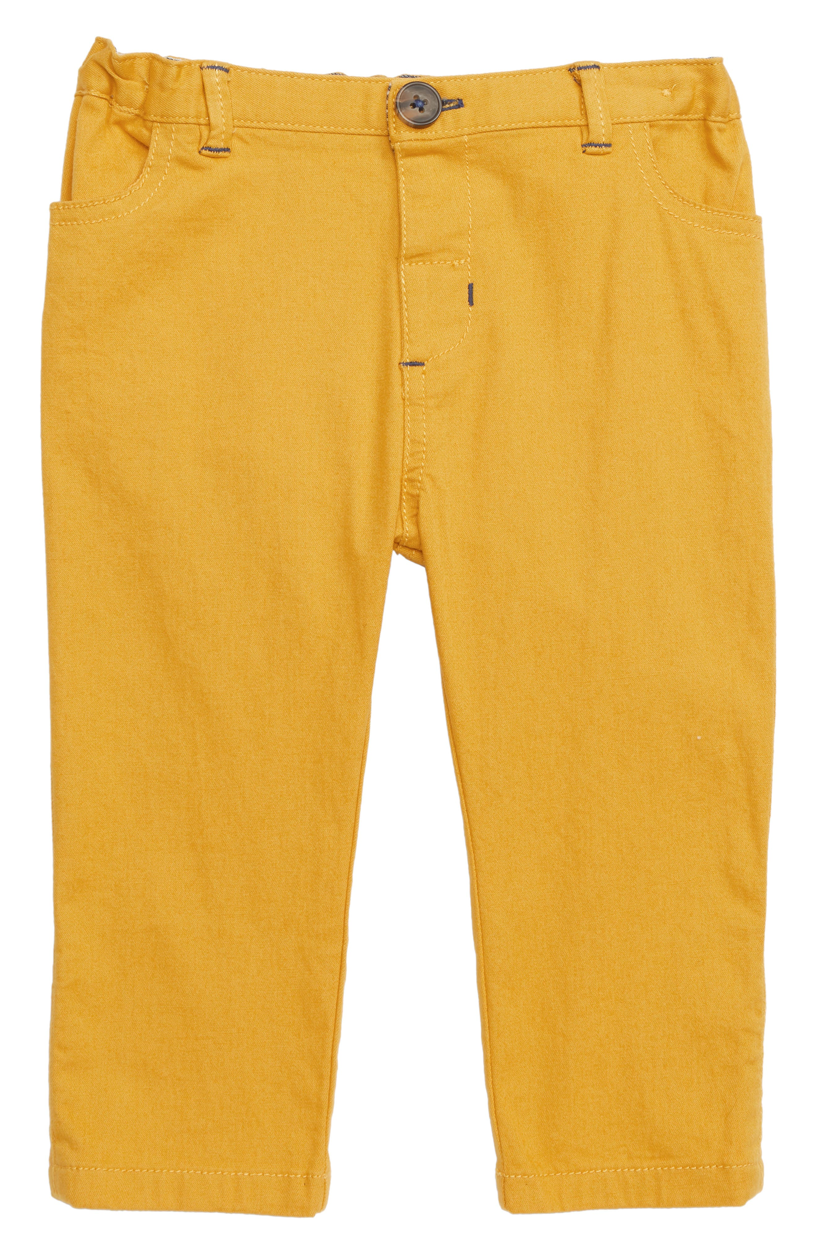 MINI BODEN Colorful Chino Pants, Main, color, YEL HONEYCOMB YELLOW