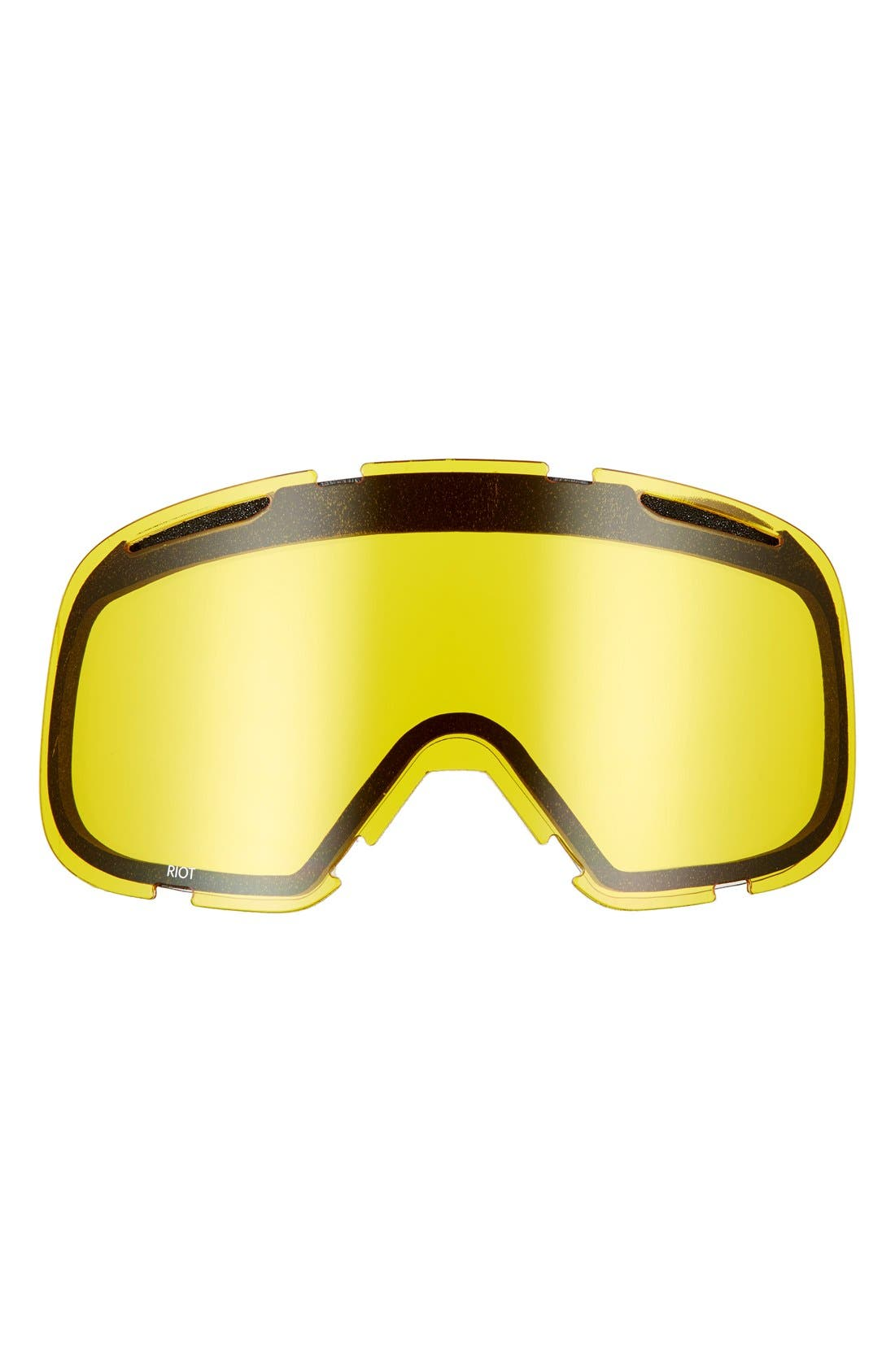 'Riot' Snow Goggles,                             Alternate thumbnail 3, color,                             001