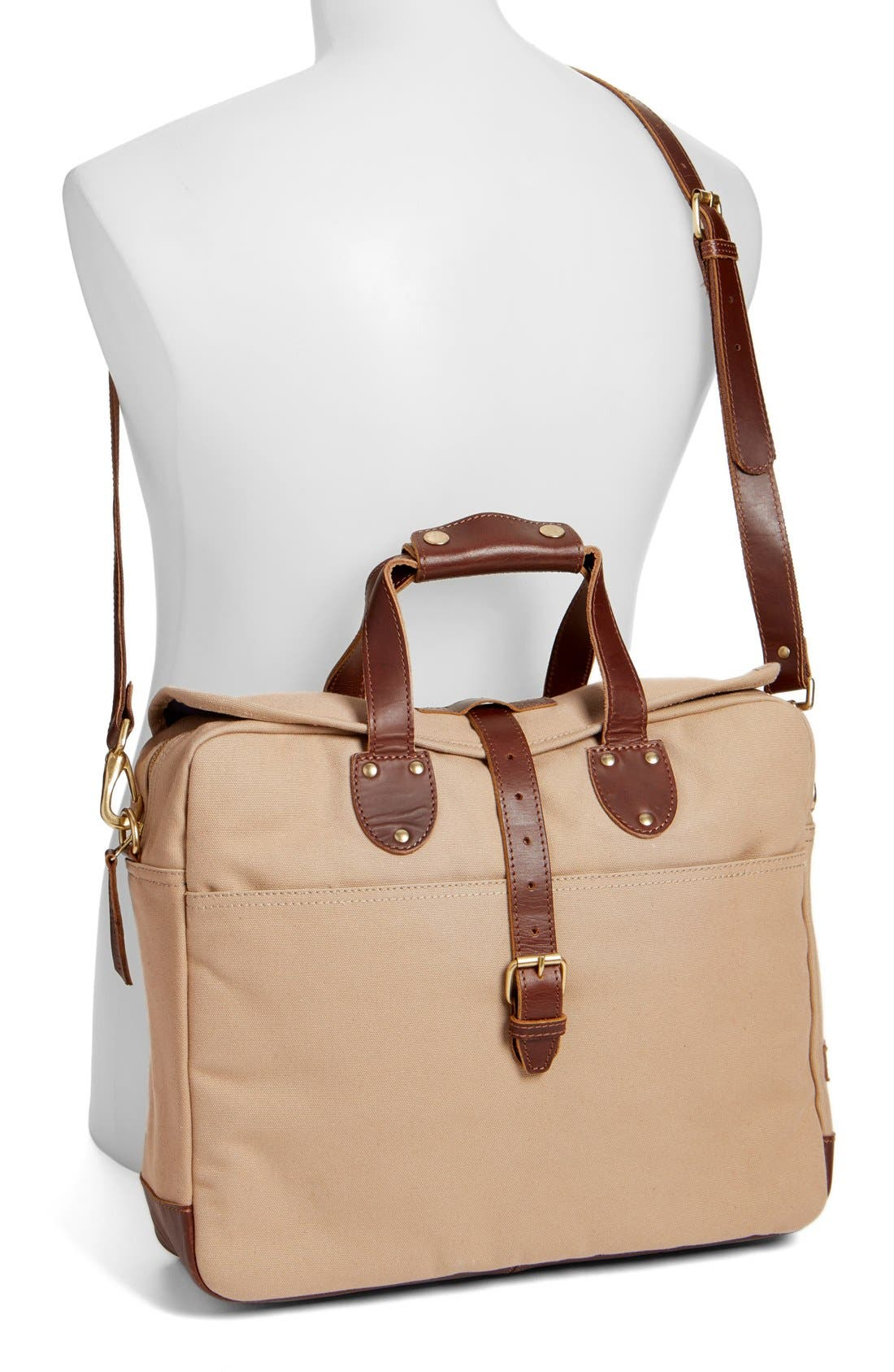 'Lakeland' Laptop Bag,                             Alternate thumbnail 2, color,                             TAN
