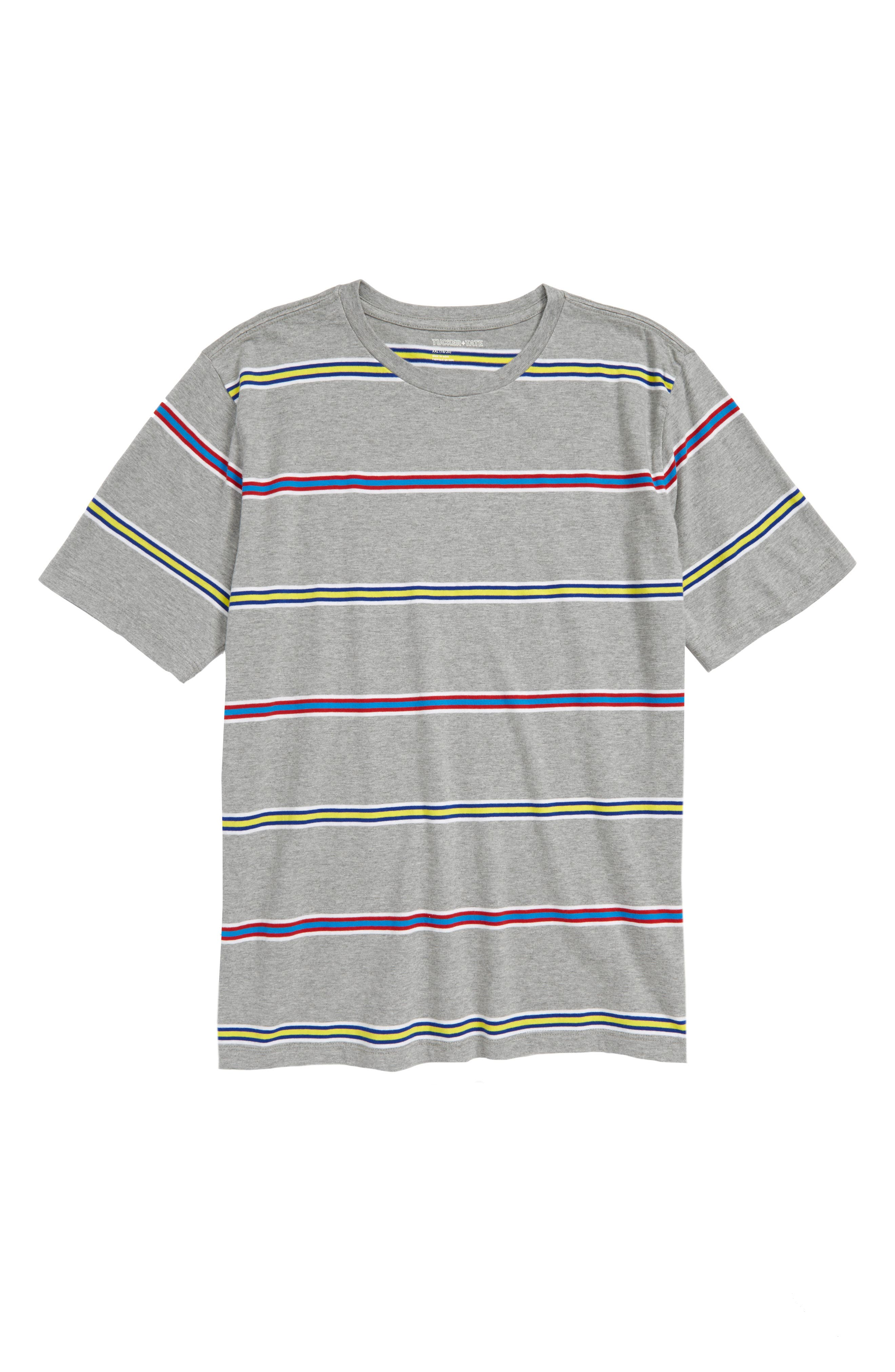 Repp Stripe T-Shirt,                             Main thumbnail 1, color,                             030