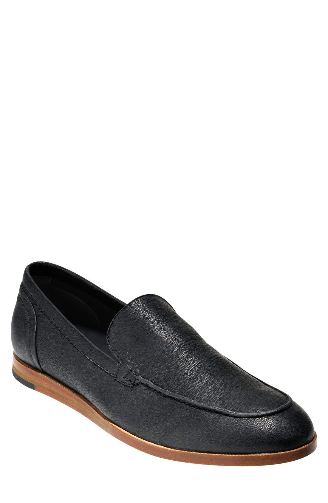 'Bedford' Loafer,                         Main,                         color, 001