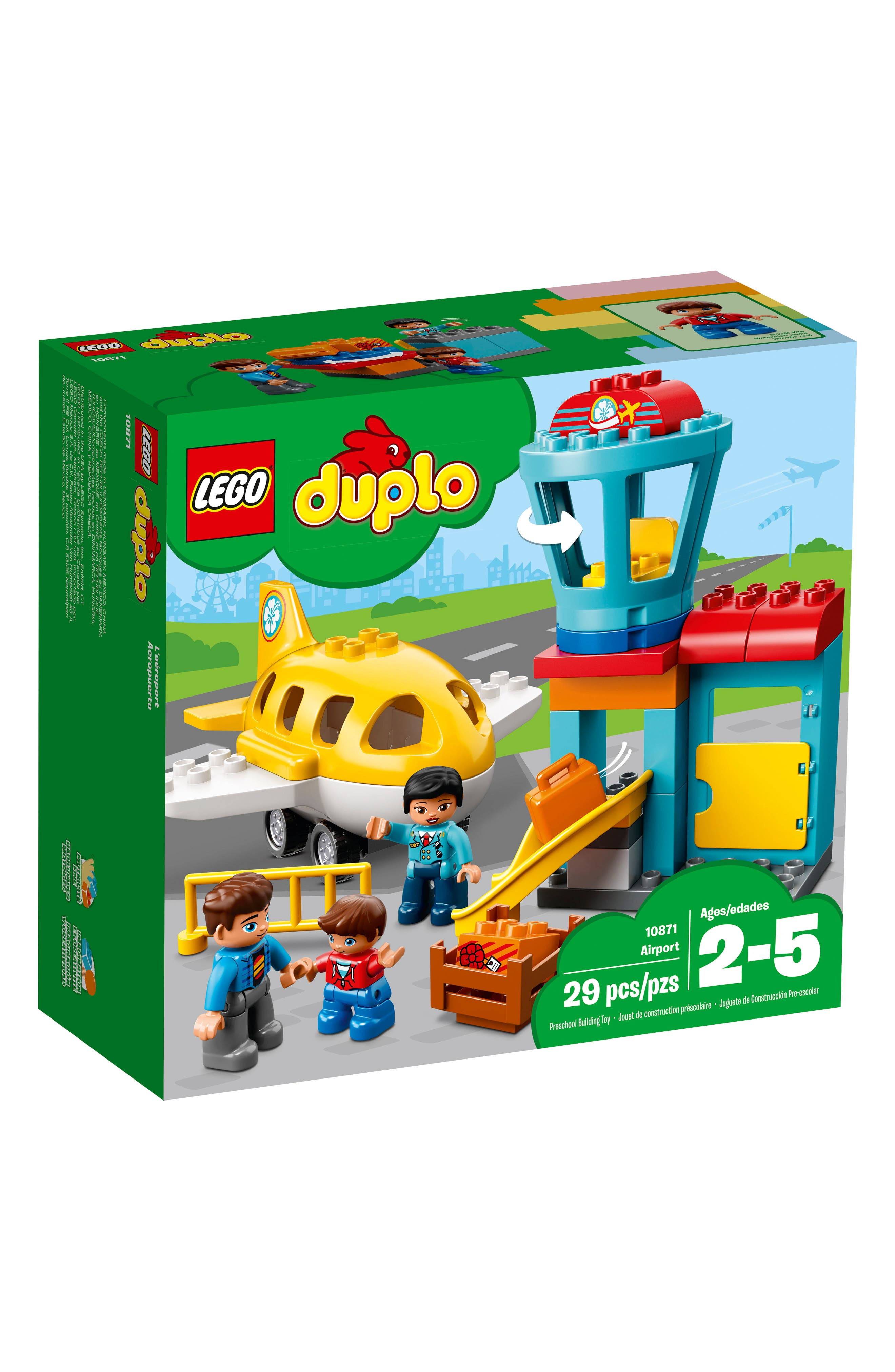 DUPLO<sup>®</sup> Airport - 10871,                         Main,                         color, 400