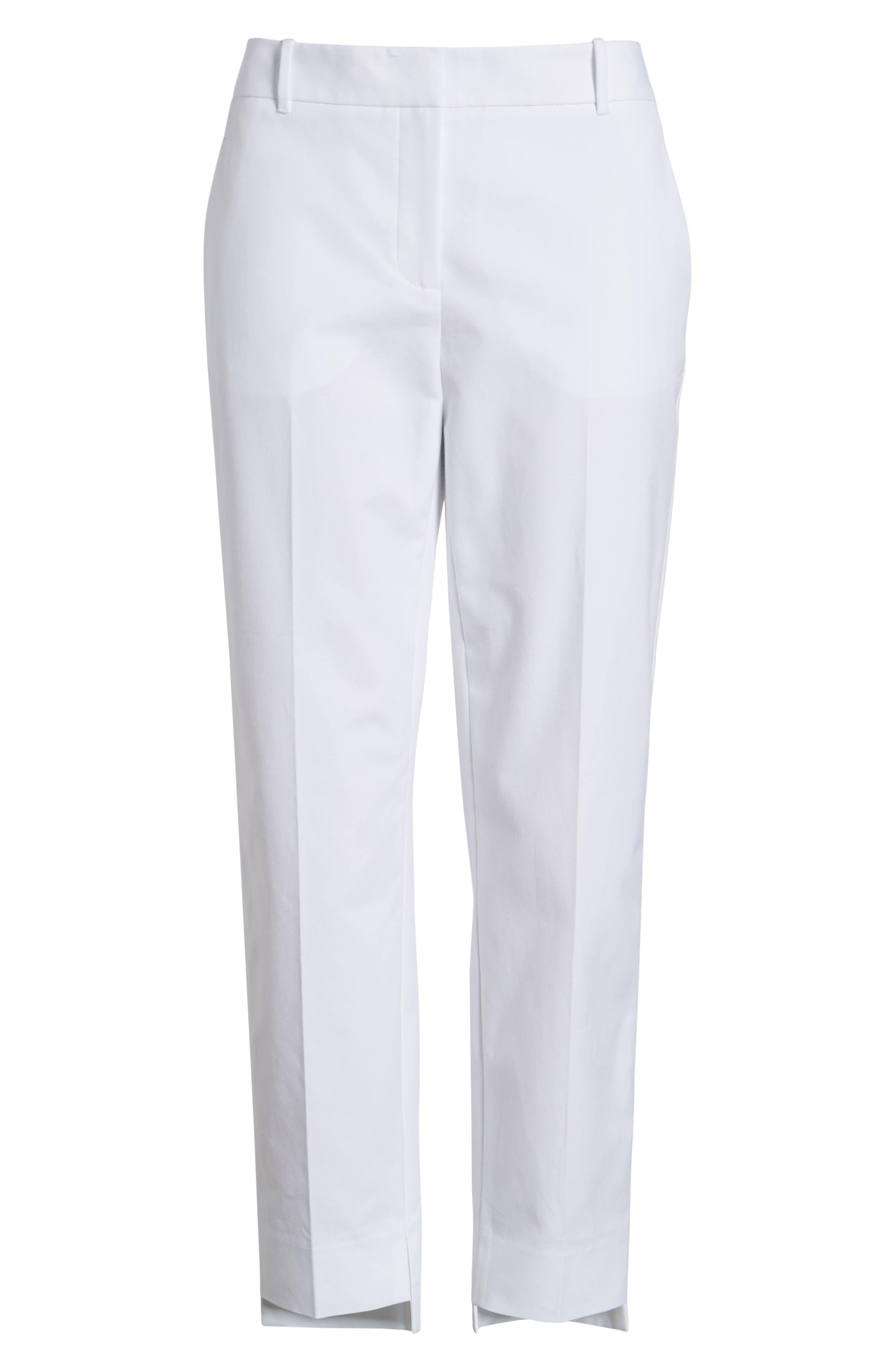 High/Low Crop Pants,                             Alternate thumbnail 12, color,