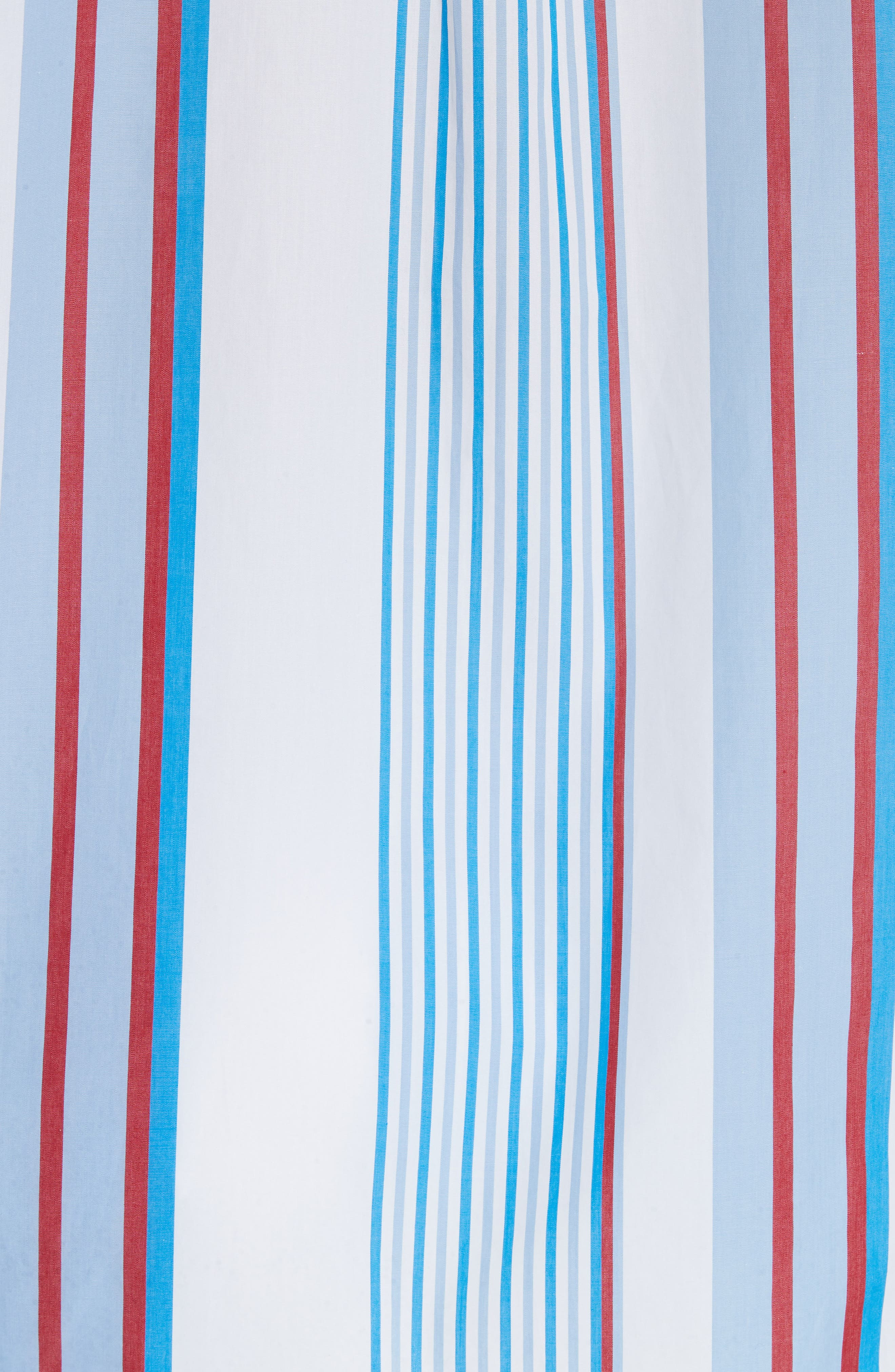 Margaux Stripe Shirt,                             Alternate thumbnail 5, color,                             BLUE WHITE MULTI
