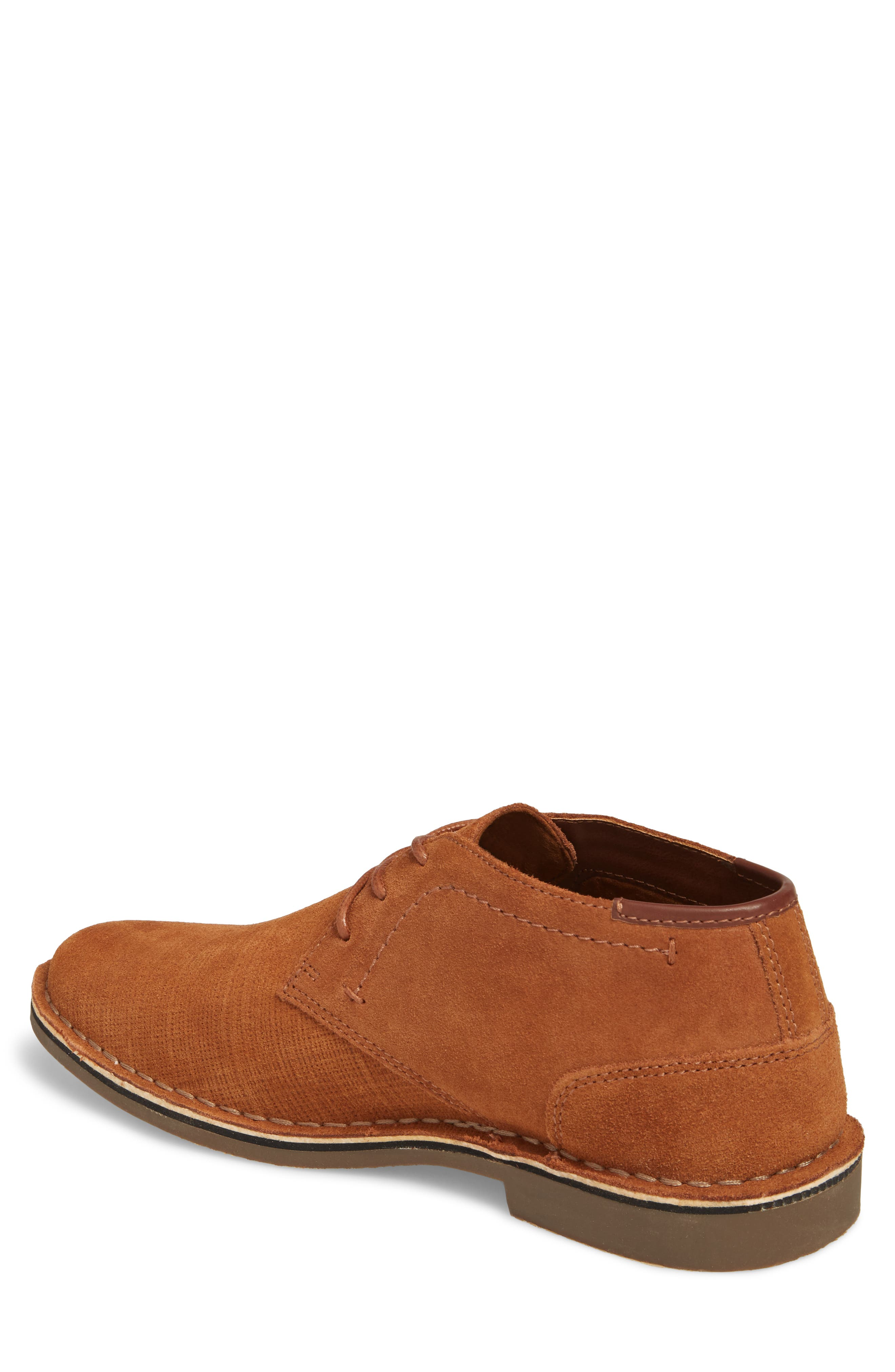 Desert Sun Textured Chukka Boot,                             Alternate thumbnail 3, color,