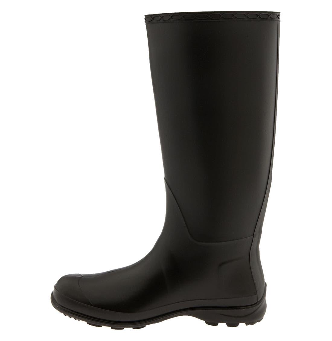 'Olivia' Rain Boot,                             Alternate thumbnail 2, color,                             010