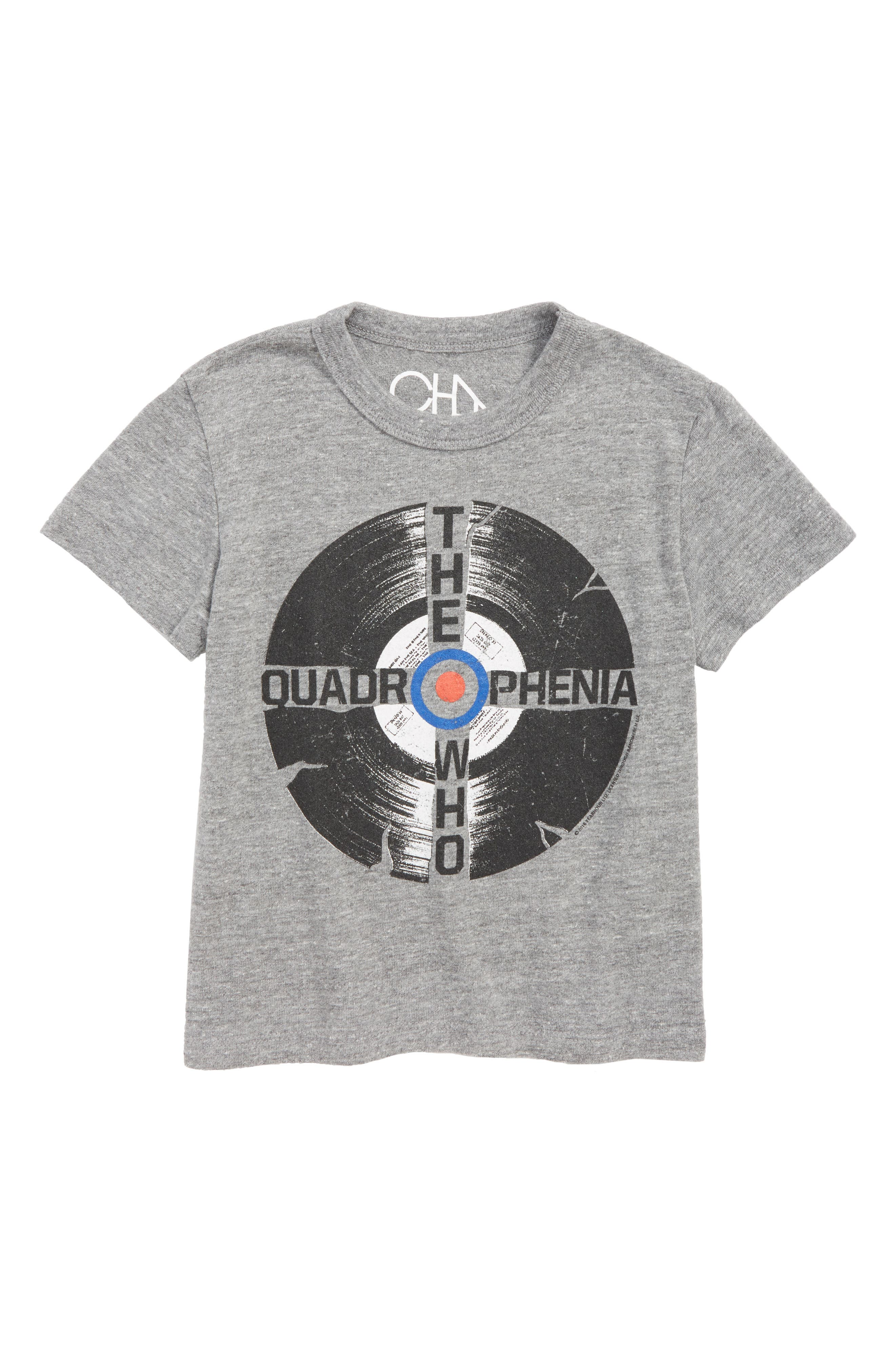The Who Record Graphic T-Shirt,                             Main thumbnail 1, color,                             035
