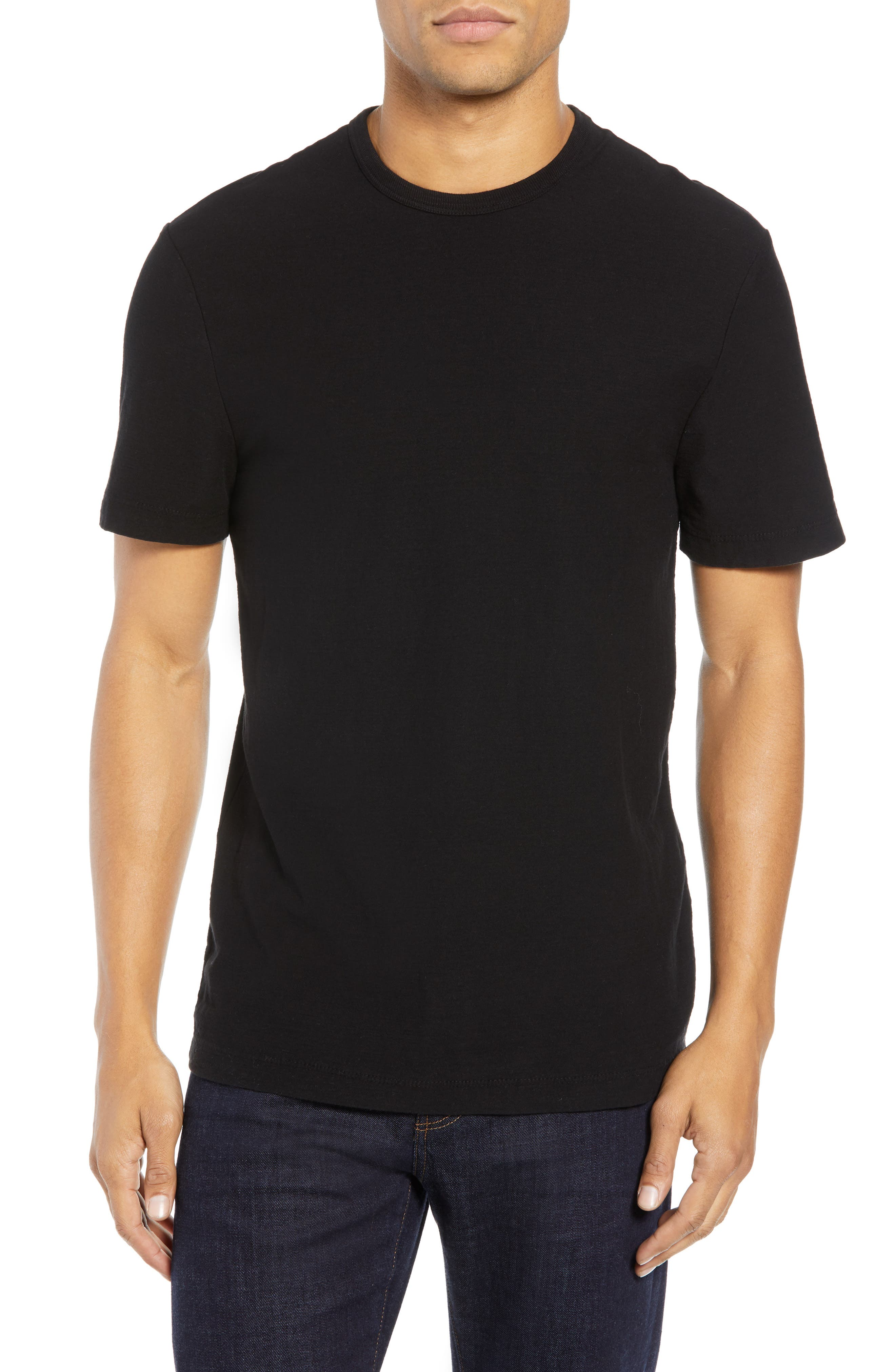 Microstripe Graphic T-Shirt,                         Main,                         color, 001