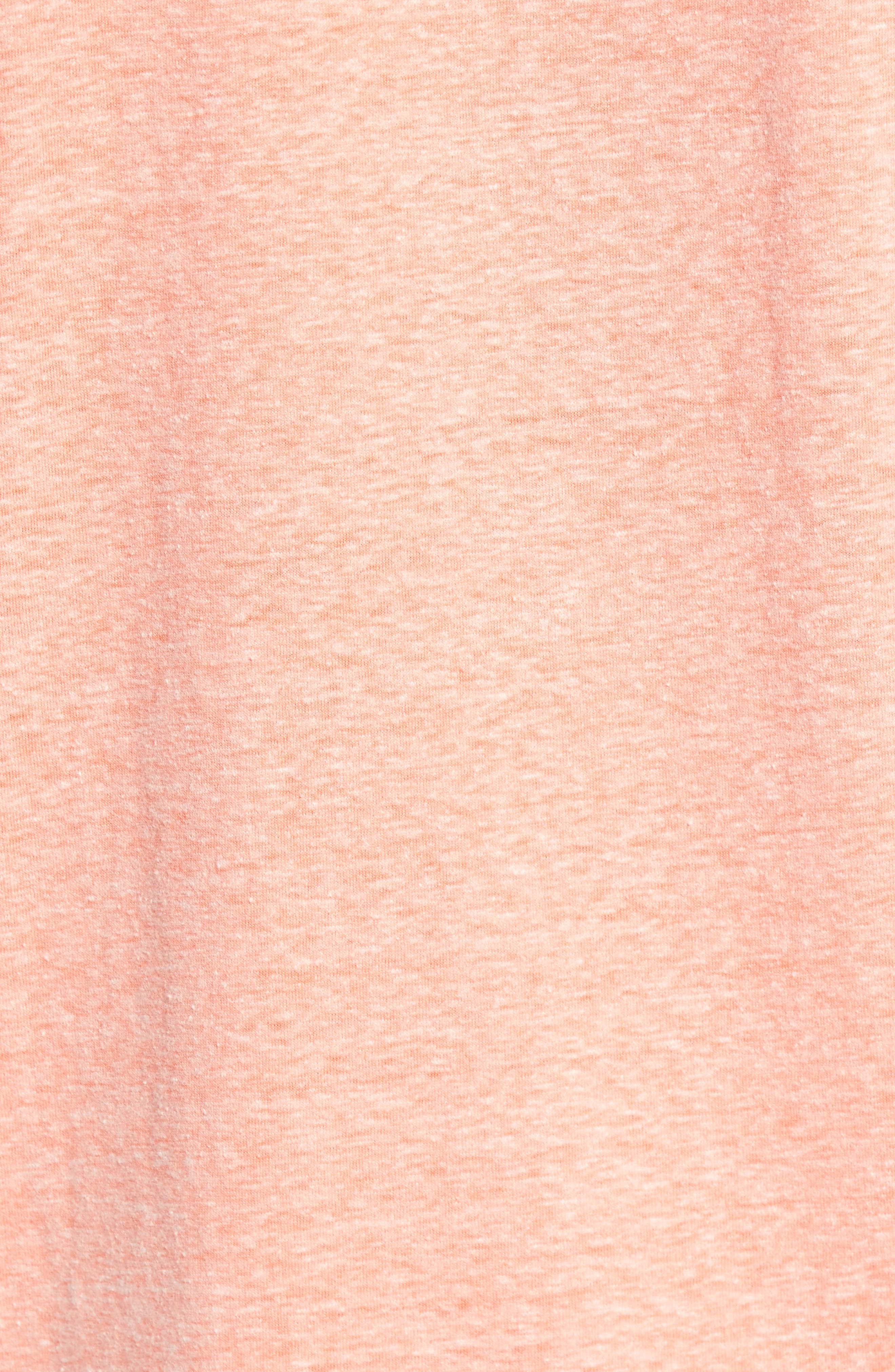 Heathered Short Sleeve Henley,                             Alternate thumbnail 10, color,