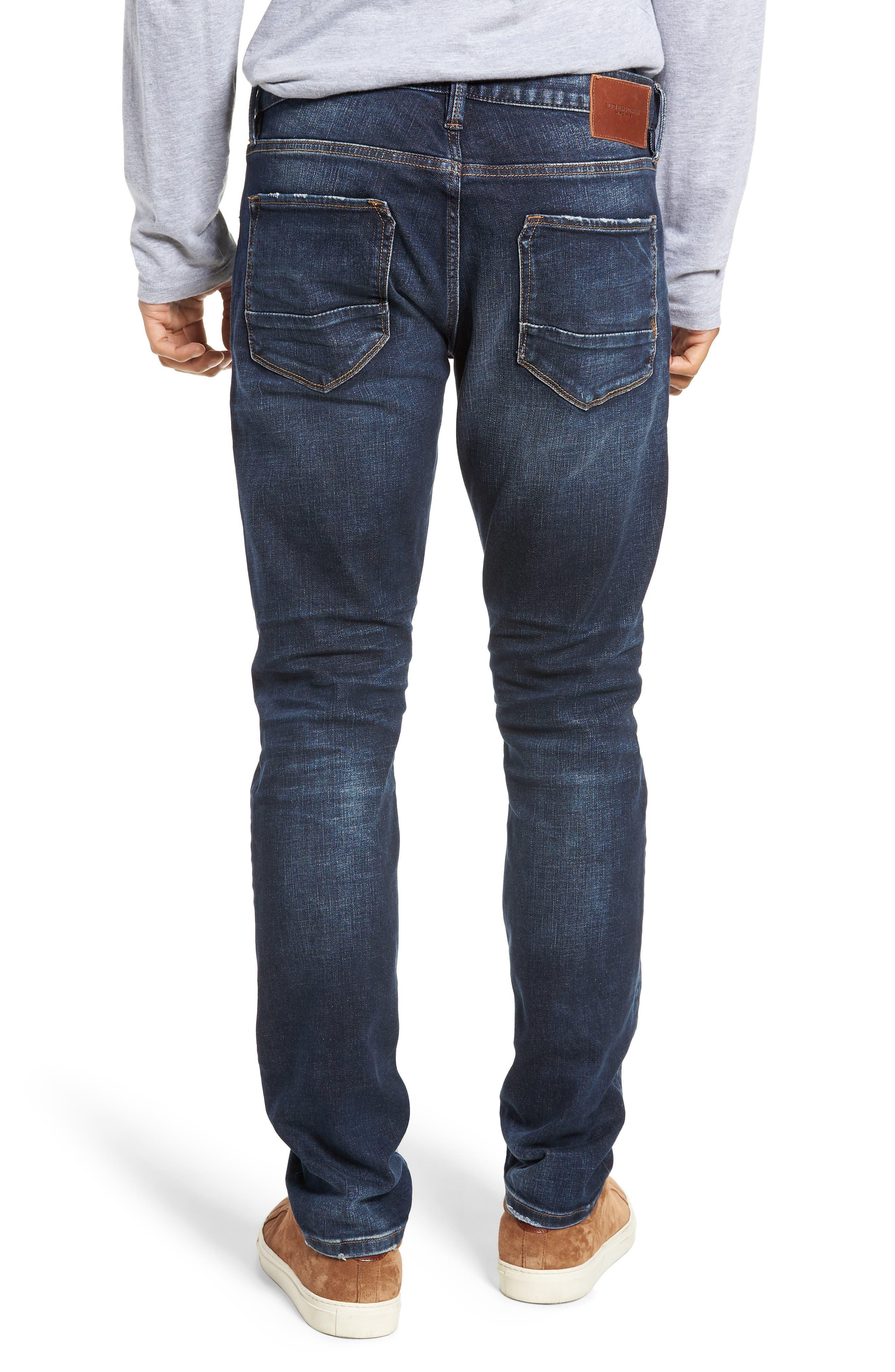 SILVER JEANS CO.,                             Ashdown Slim Straight Fit Jeans,                             Alternate thumbnail 2, color,                             INDIGO