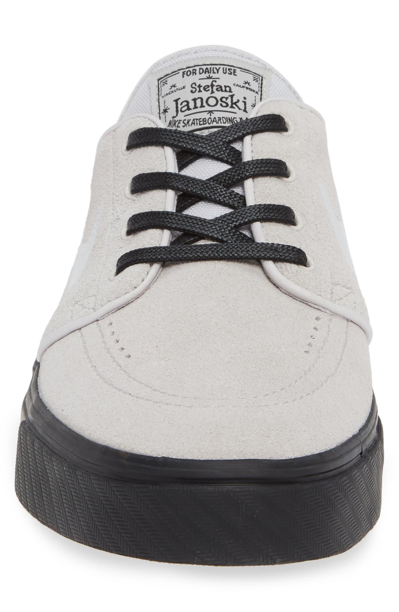 'Zoom - Stefan Janoski' Skate Shoe,                             Alternate thumbnail 4, color,                             068