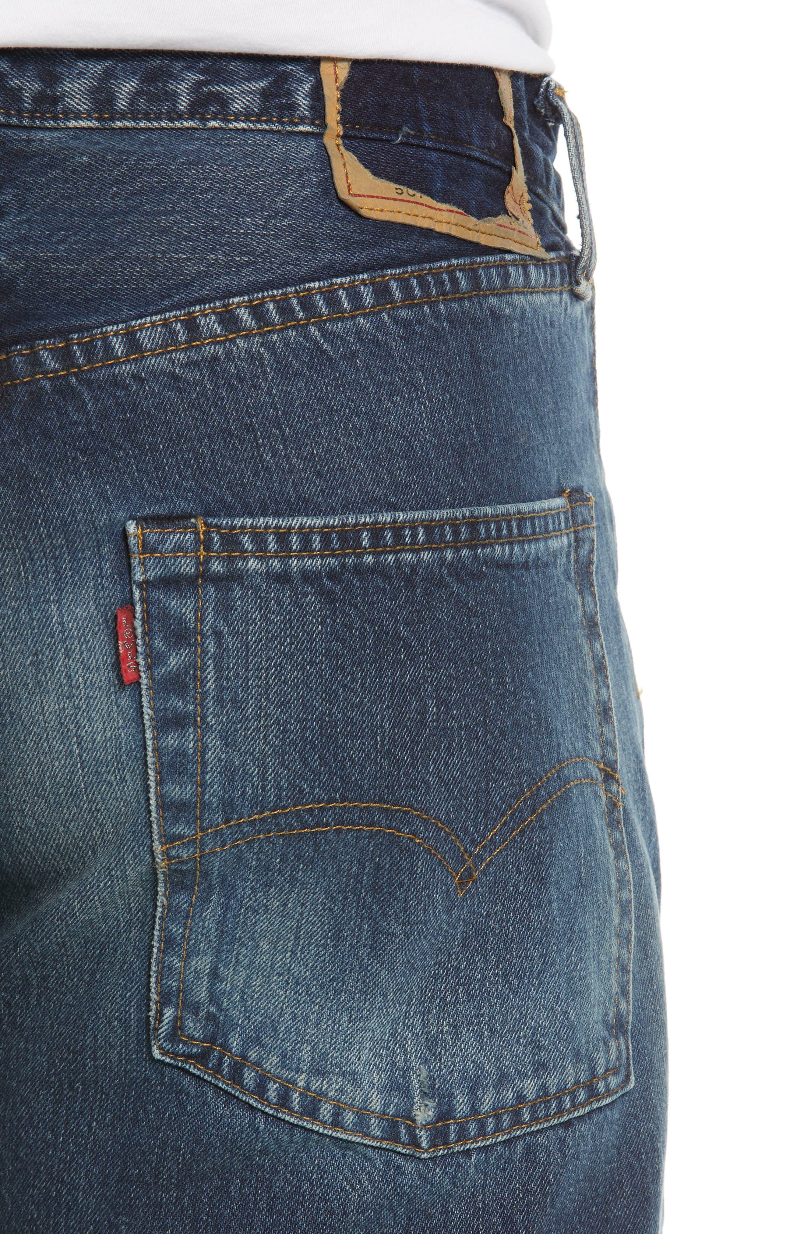 Levi's<sup>®</sup> 1967 501<sup>®</sup> Slim Fit Jeans,                             Alternate thumbnail 4, color,                             402
