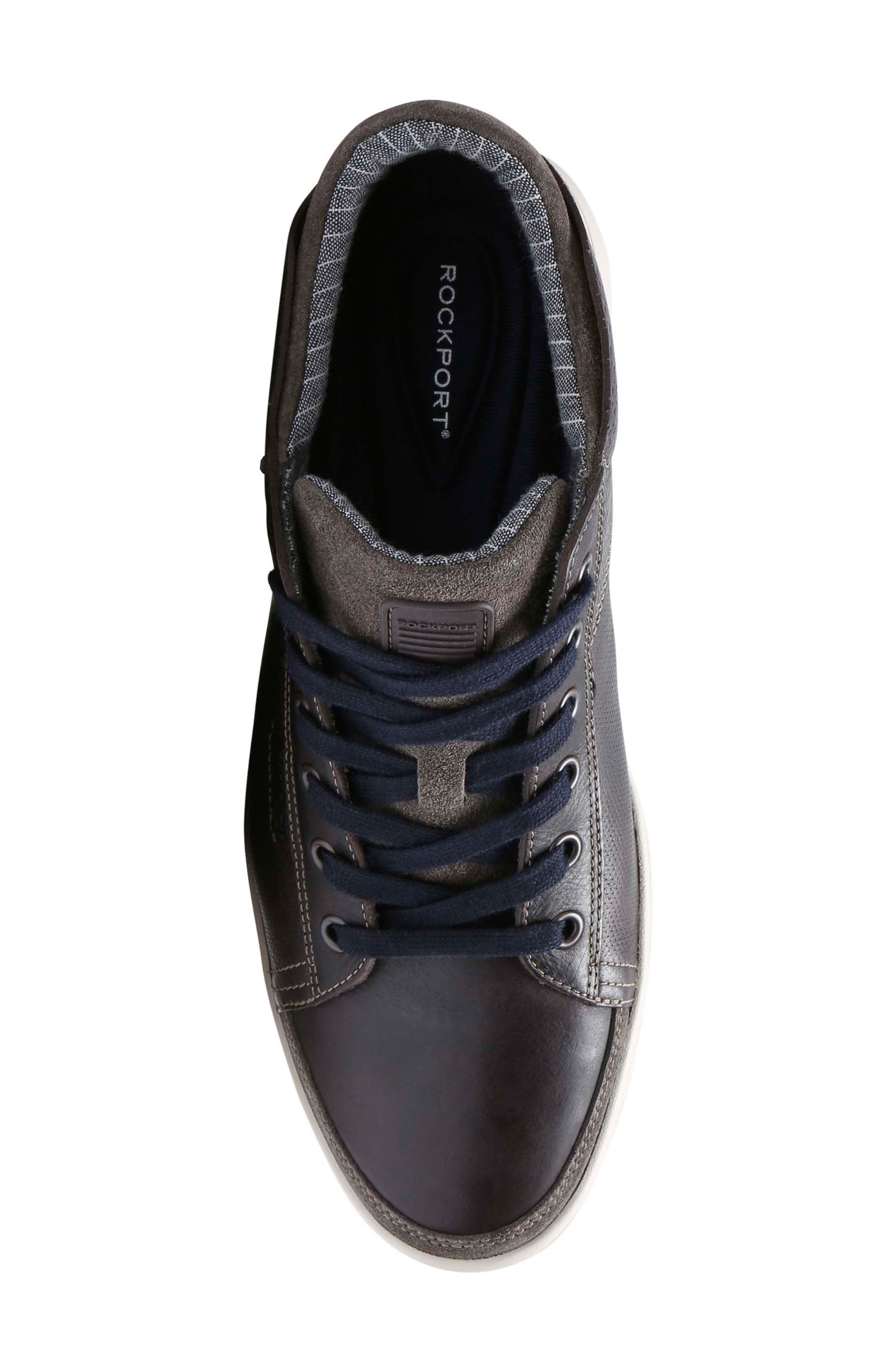 Colle Sneaker,                             Alternate thumbnail 5, color,                             COFFEE LEATHER