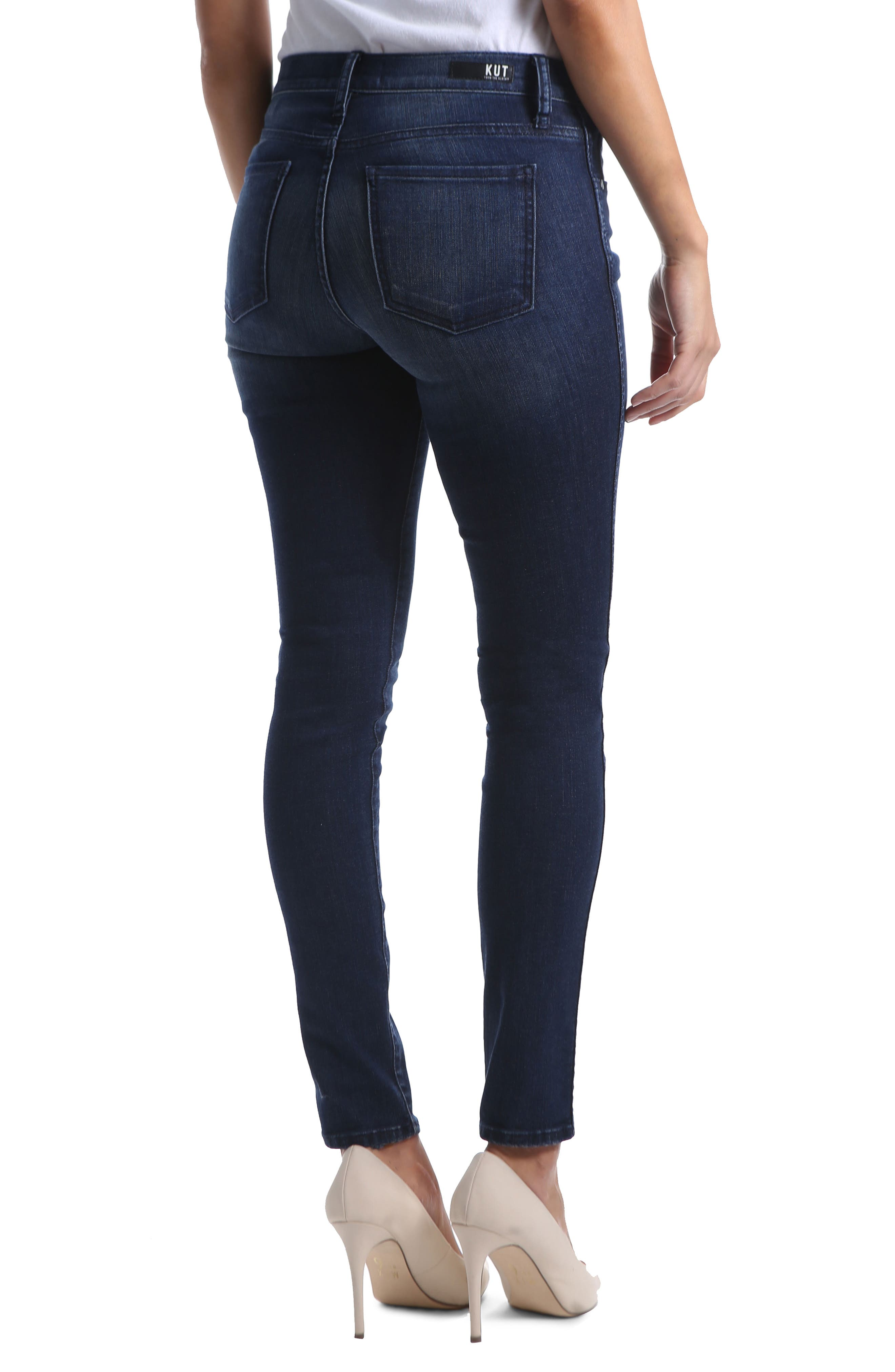 Diana Fab Ab Fit Solution Skinny Jeans,                             Alternate thumbnail 2, color,                             HOLD