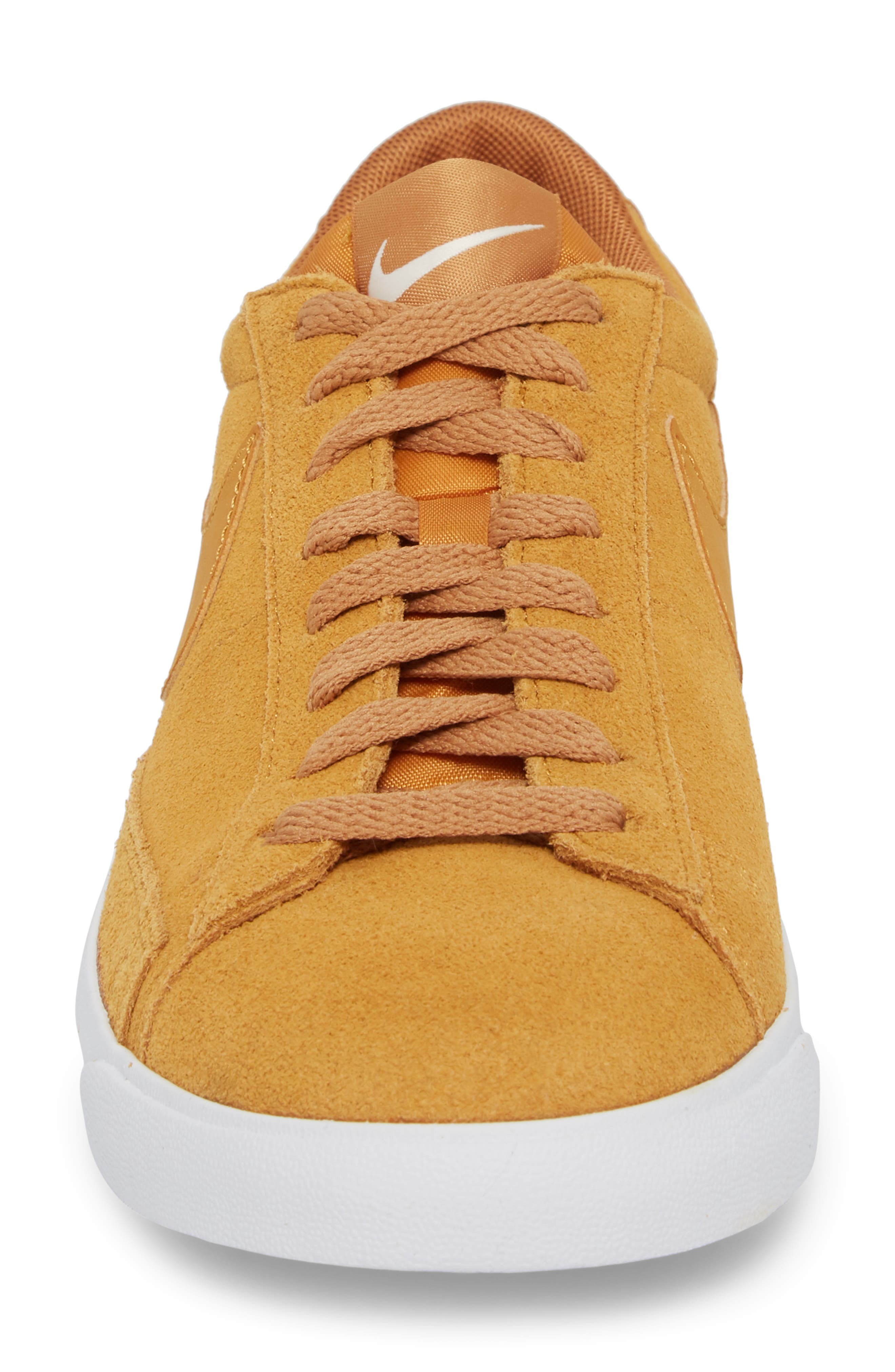 Blazer Low Suede Sneaker,                             Alternate thumbnail 4, color,                             260