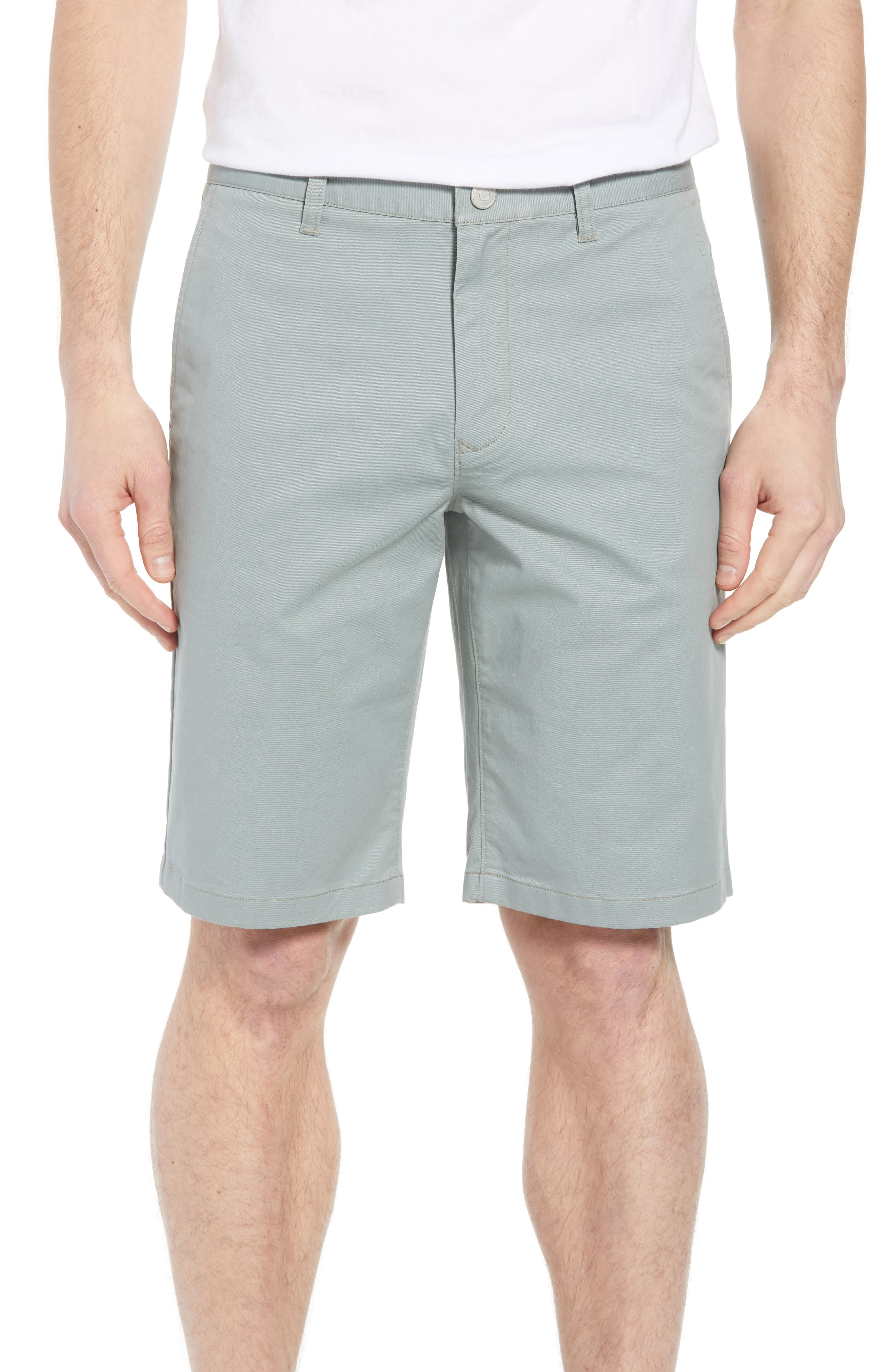 Stretch Washed Chino 11-Inch Shorts,                             Main thumbnail 4, color,
