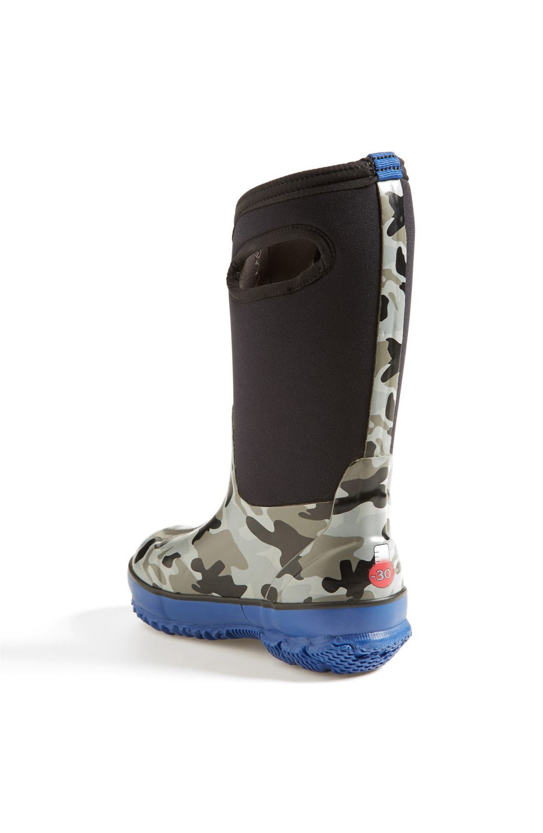 Classic Camo Insulated Waterproof Boot,                             Alternate thumbnail 2, color,                             001