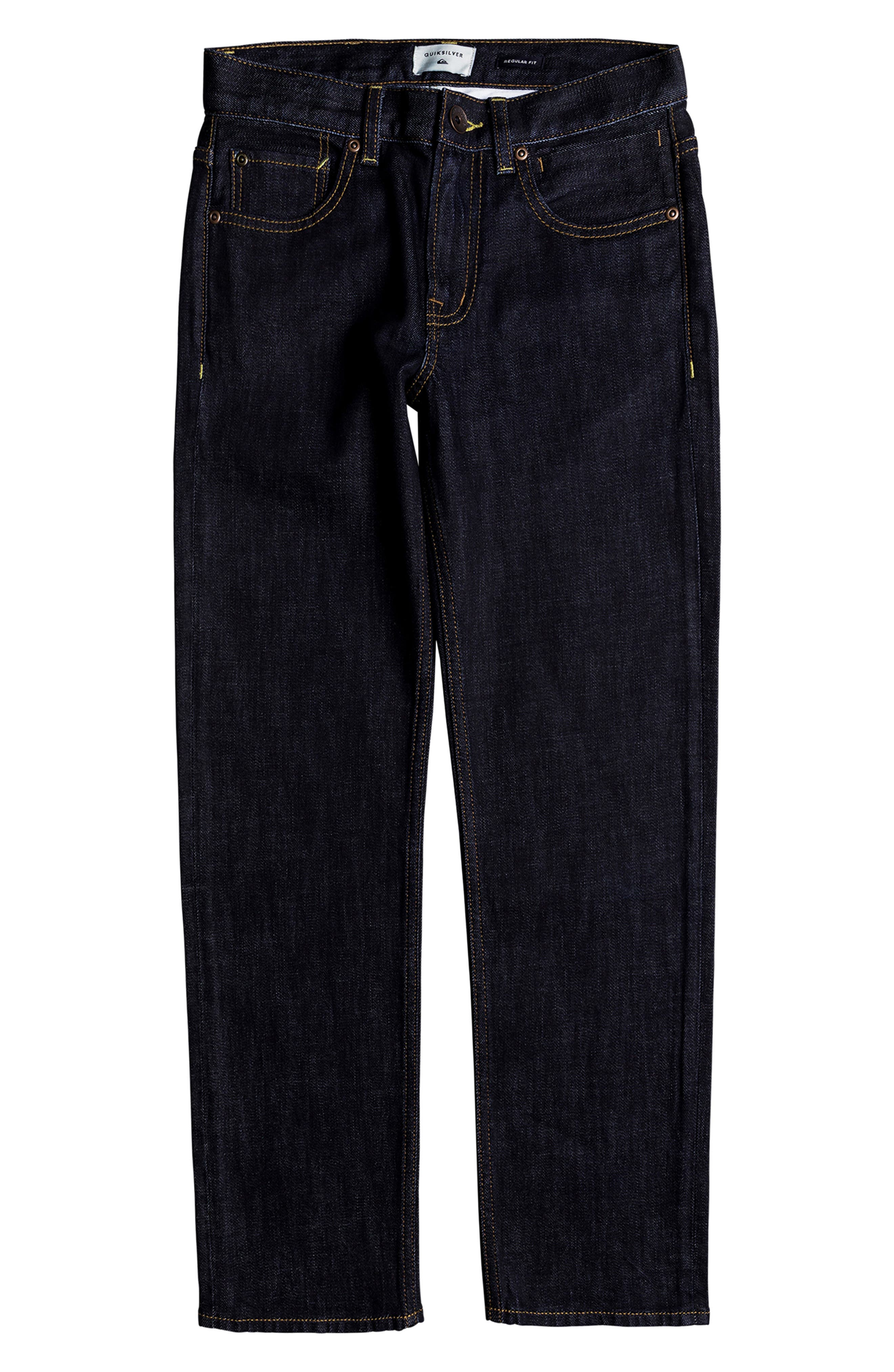 Sequel Straight Leg Jeans,                             Main thumbnail 1, color,                             RINSE