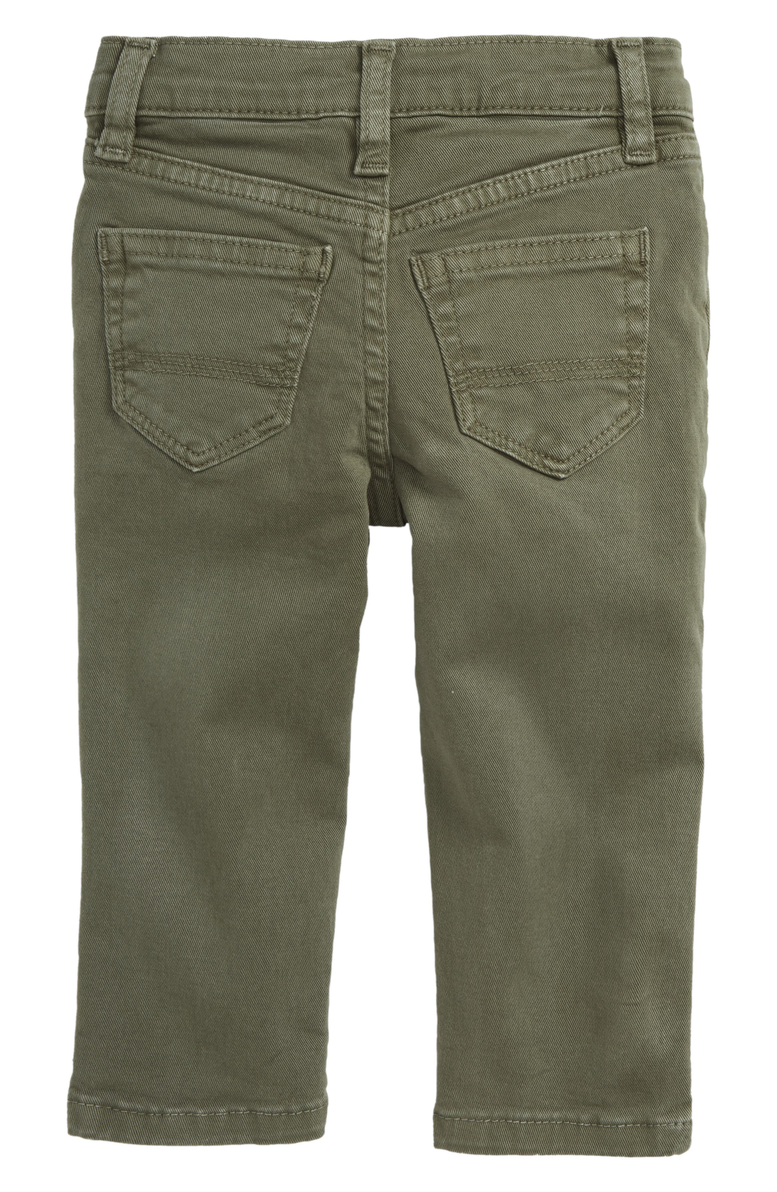 Peek Slouch Twill Jeans,                             Alternate thumbnail 2, color,                             OLIVE