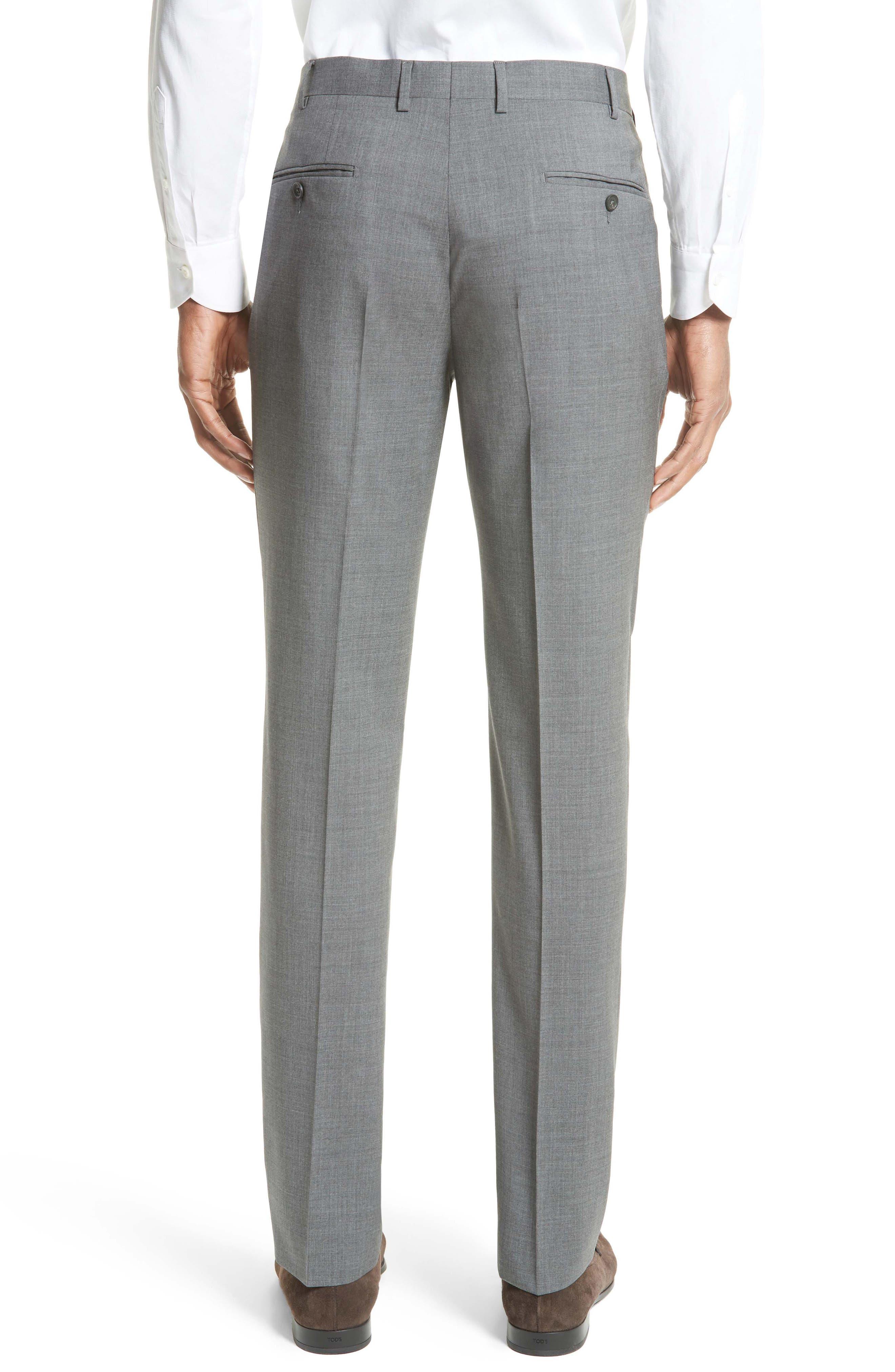 Tropical Wool Suit Trousers,                             Alternate thumbnail 2, color,                             020