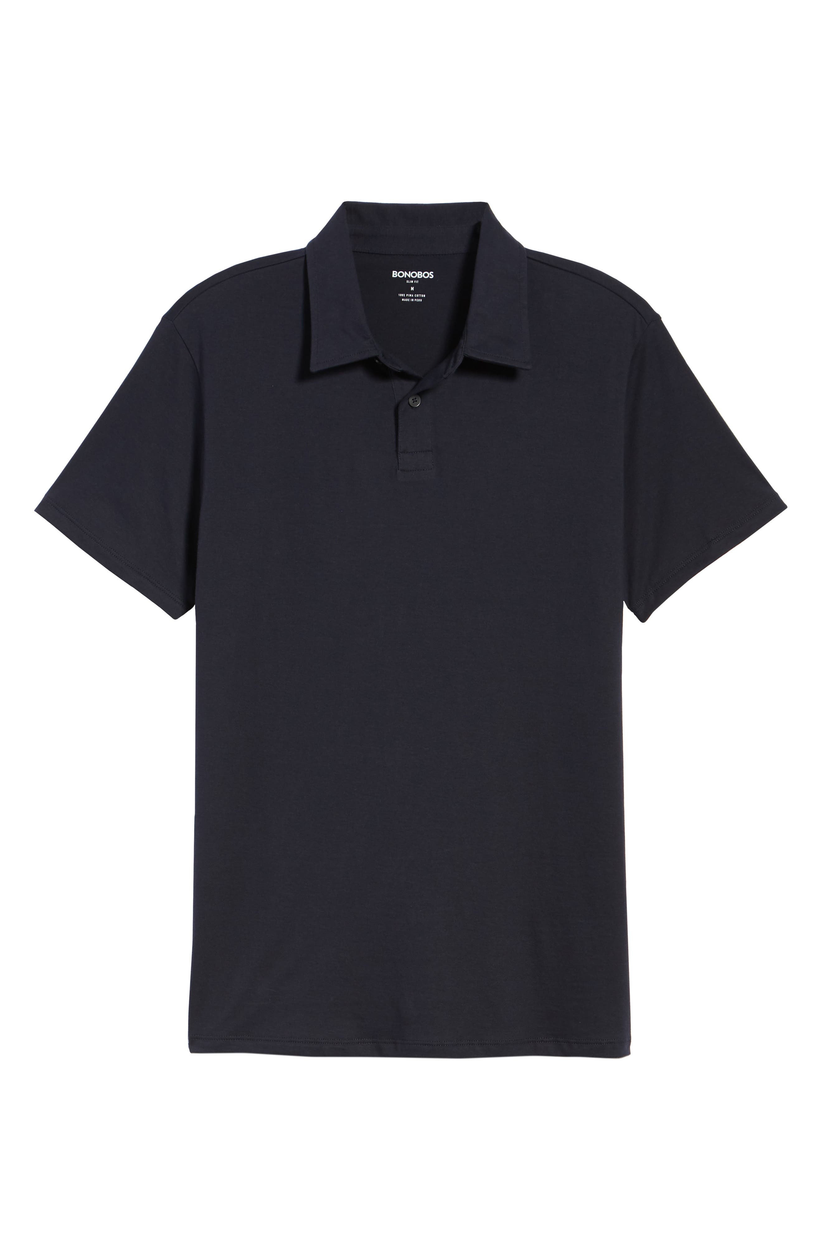 Refined Jersey Polo,                             Alternate thumbnail 45, color,
