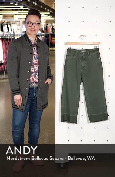 Hepburn High Waist Crop Wide Leg Jeans, sales video thumbnail