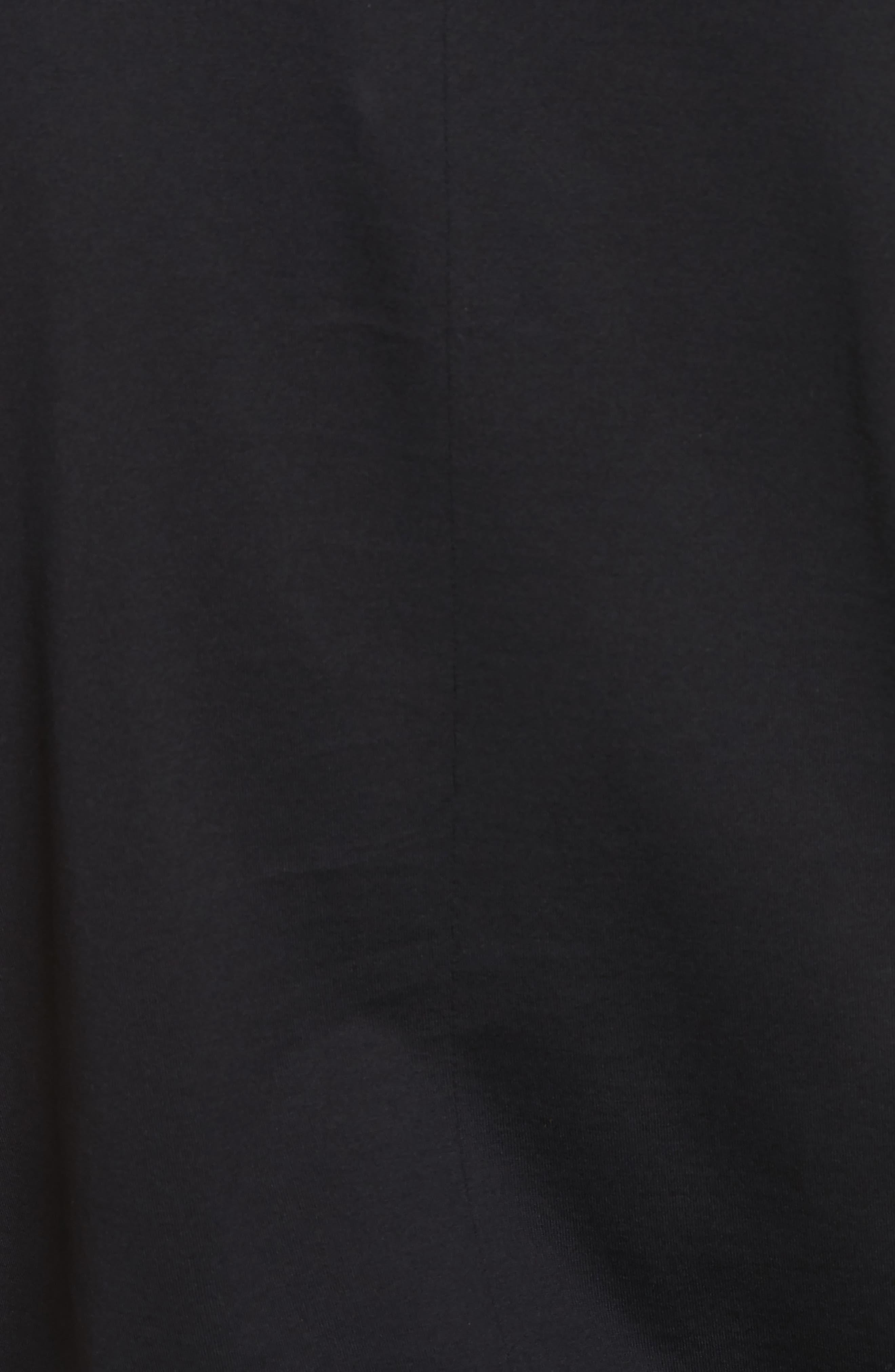 Half Band Crewneck T-Shirt,                             Alternate thumbnail 5, color,                             001