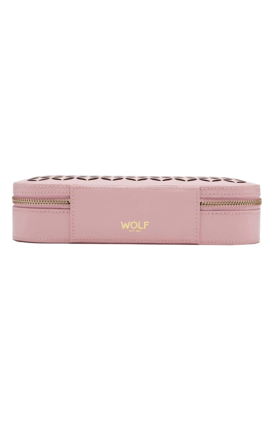 Chloe Zip Jewelry Case,                             Alternate thumbnail 4, color,                             650
