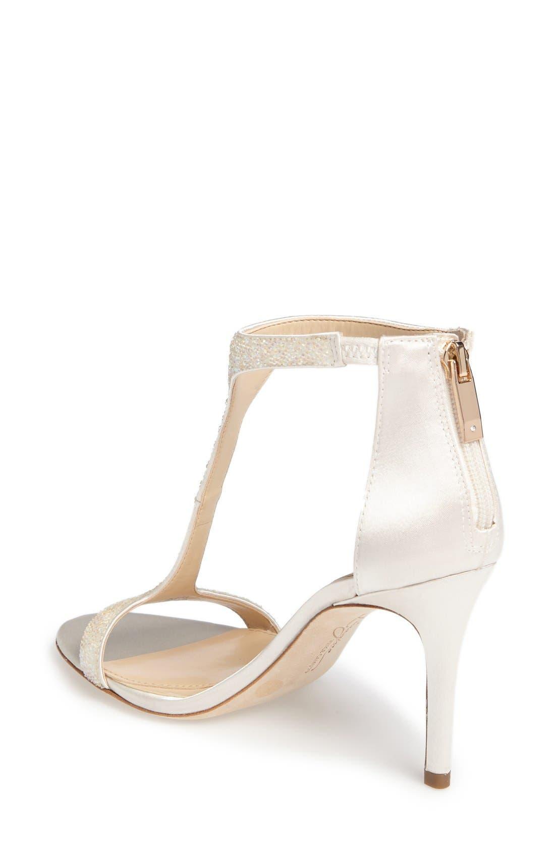 'Phoebe' Embellished T-Strap Sandal,                             Alternate thumbnail 86, color,