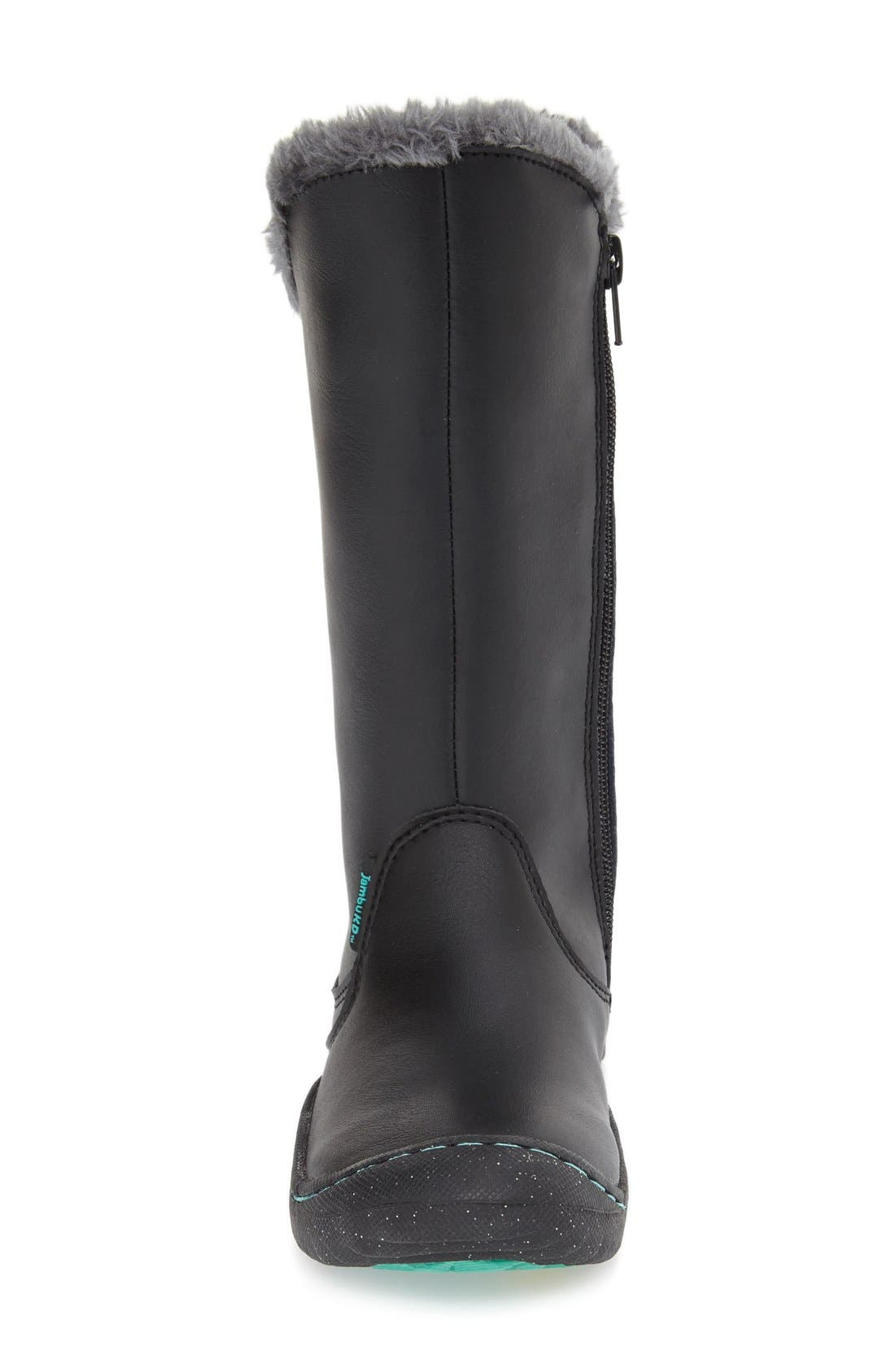'Azami' Water Resistant Boot,                             Alternate thumbnail 3, color,                             001