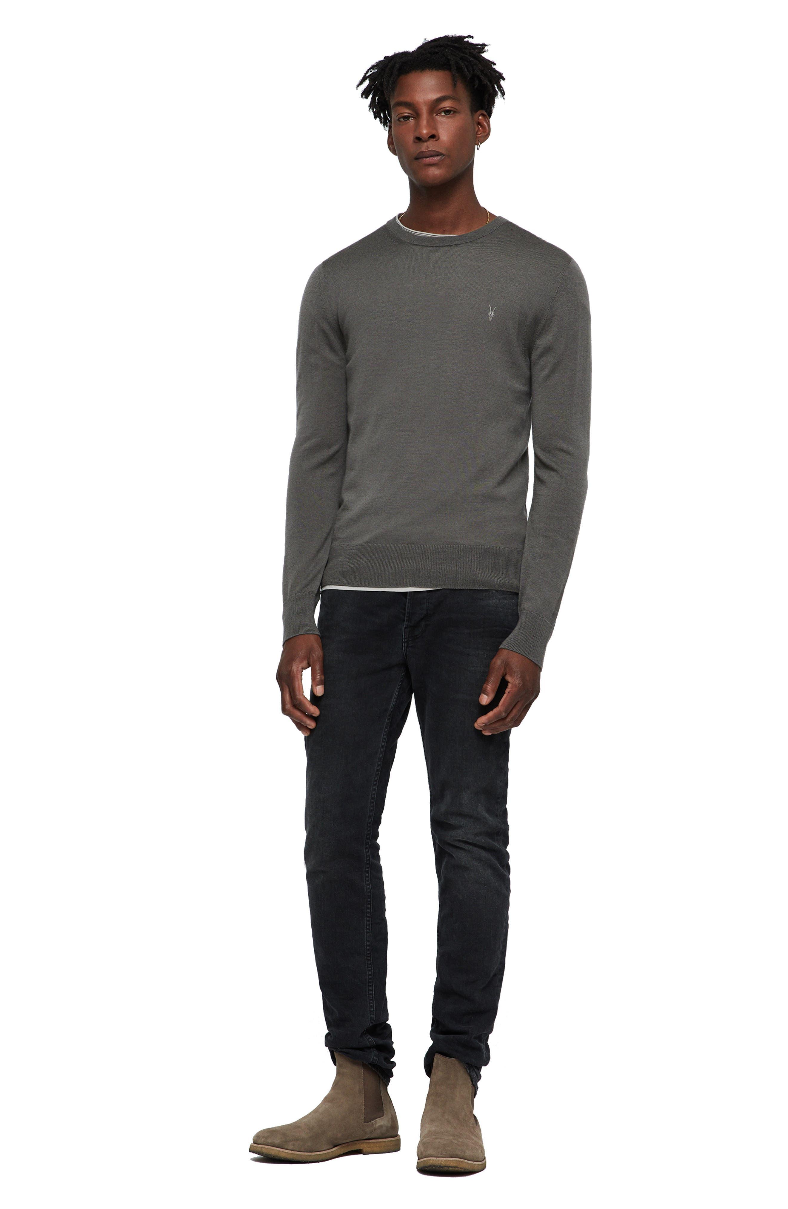 Mode Slim Fit Merino Wool Sweater,                             Alternate thumbnail 23, color,
