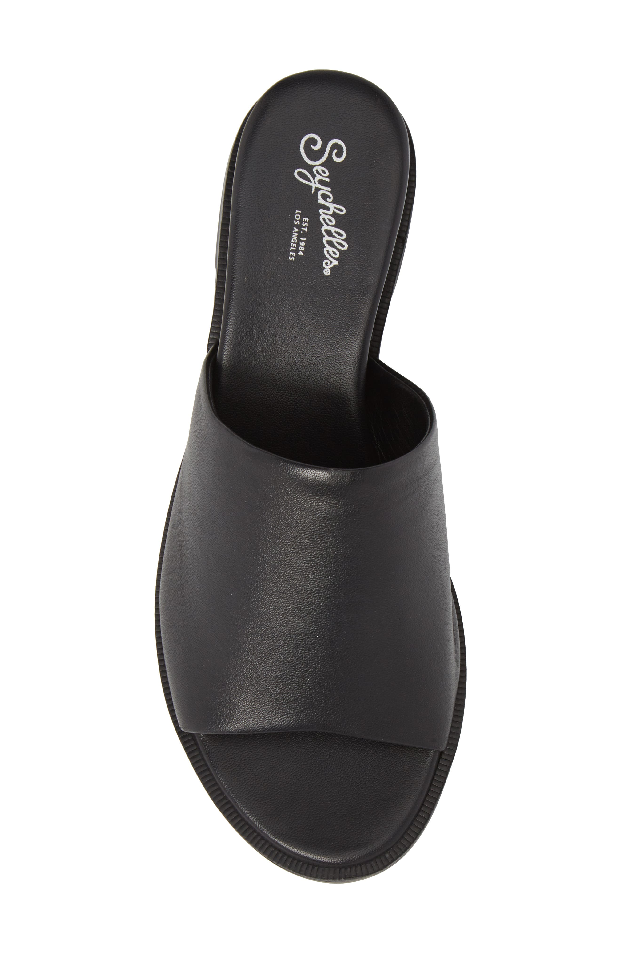 Relaxing Wedge Slide Sandal,                             Alternate thumbnail 5, color,                             001