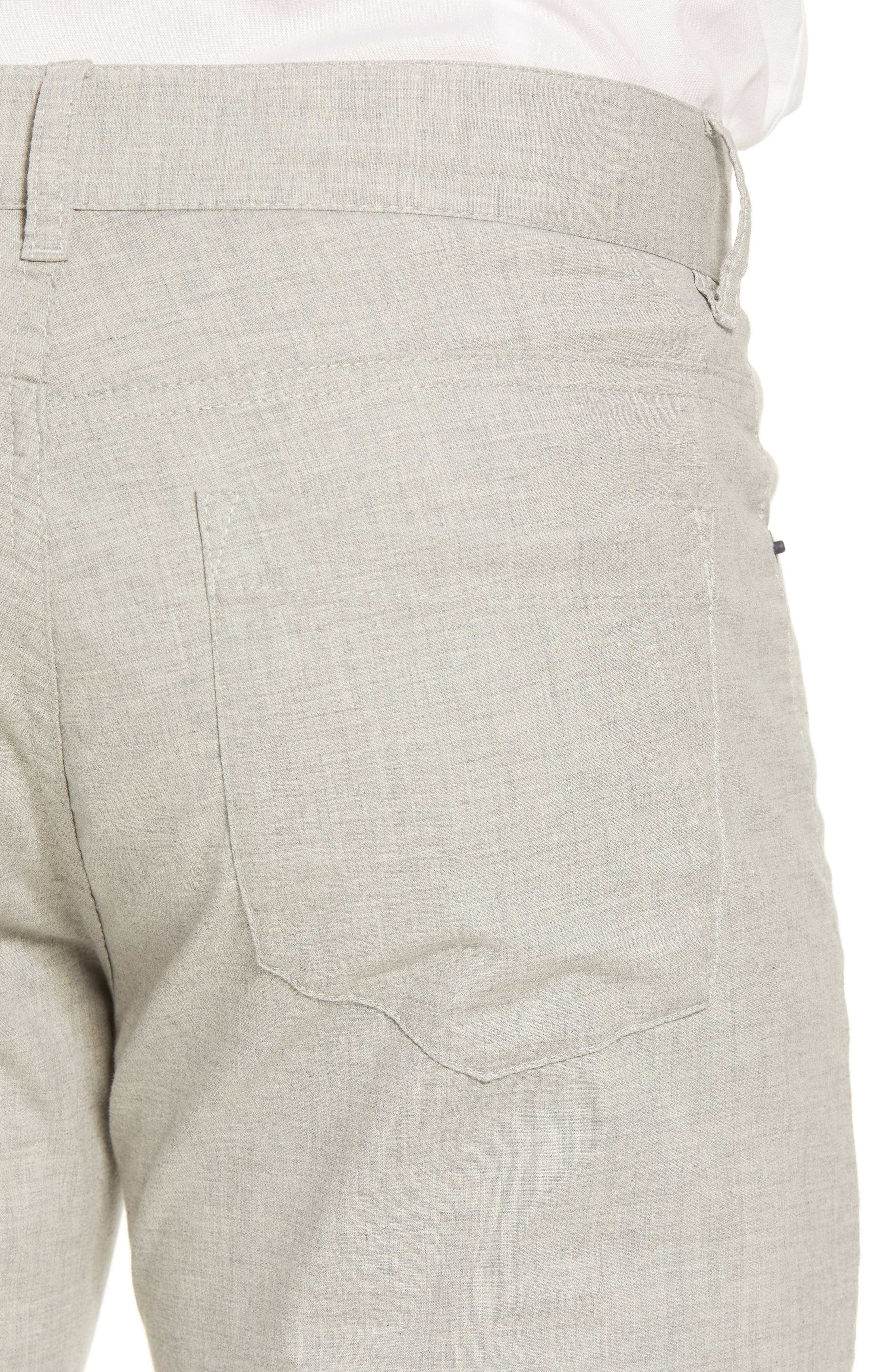 McKinney Regular Fit Straight Leg Pants,                             Alternate thumbnail 4, color,                             GREY
