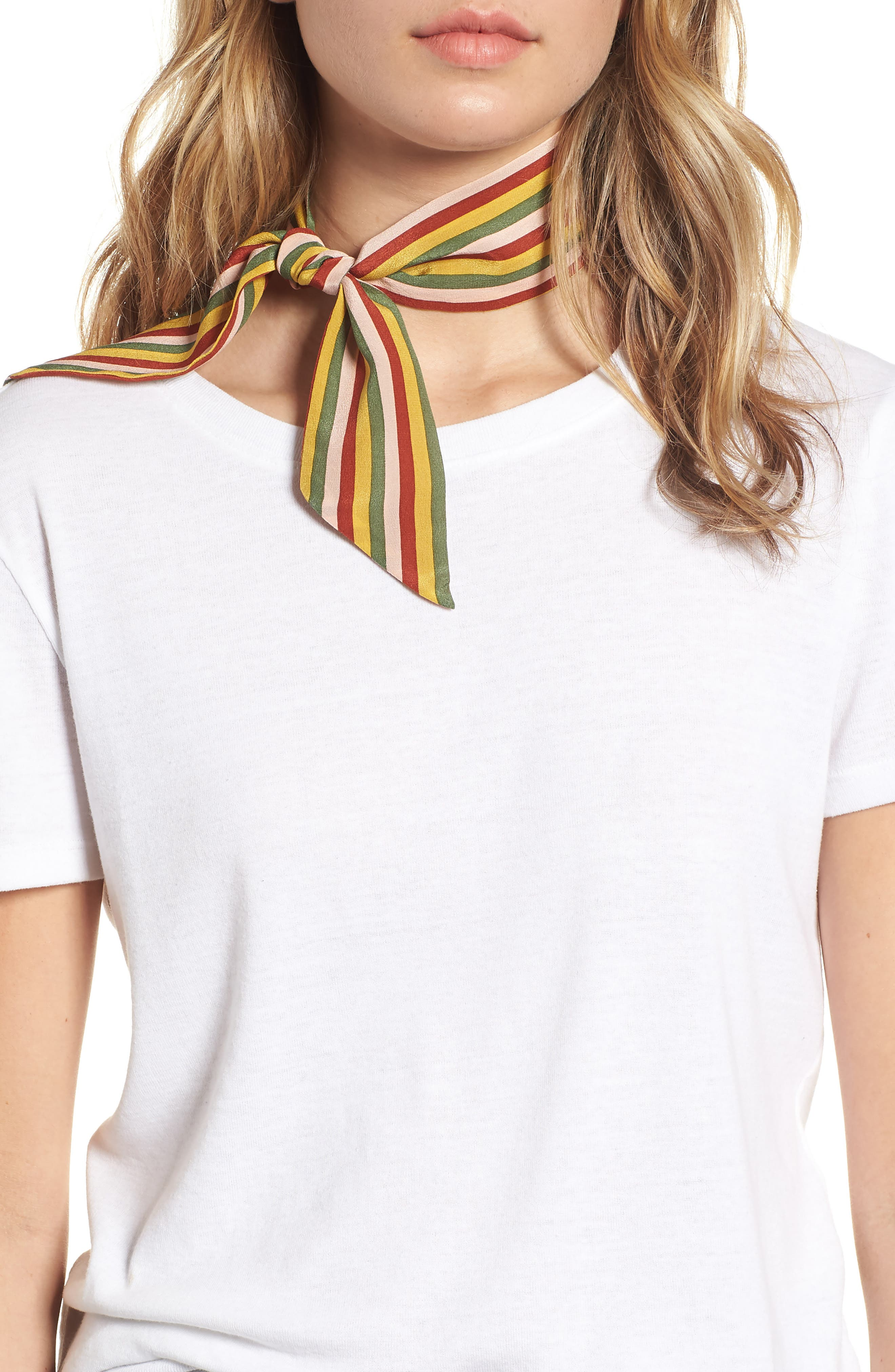 Silk Skinny Bandana,                         Main,                         color, 300