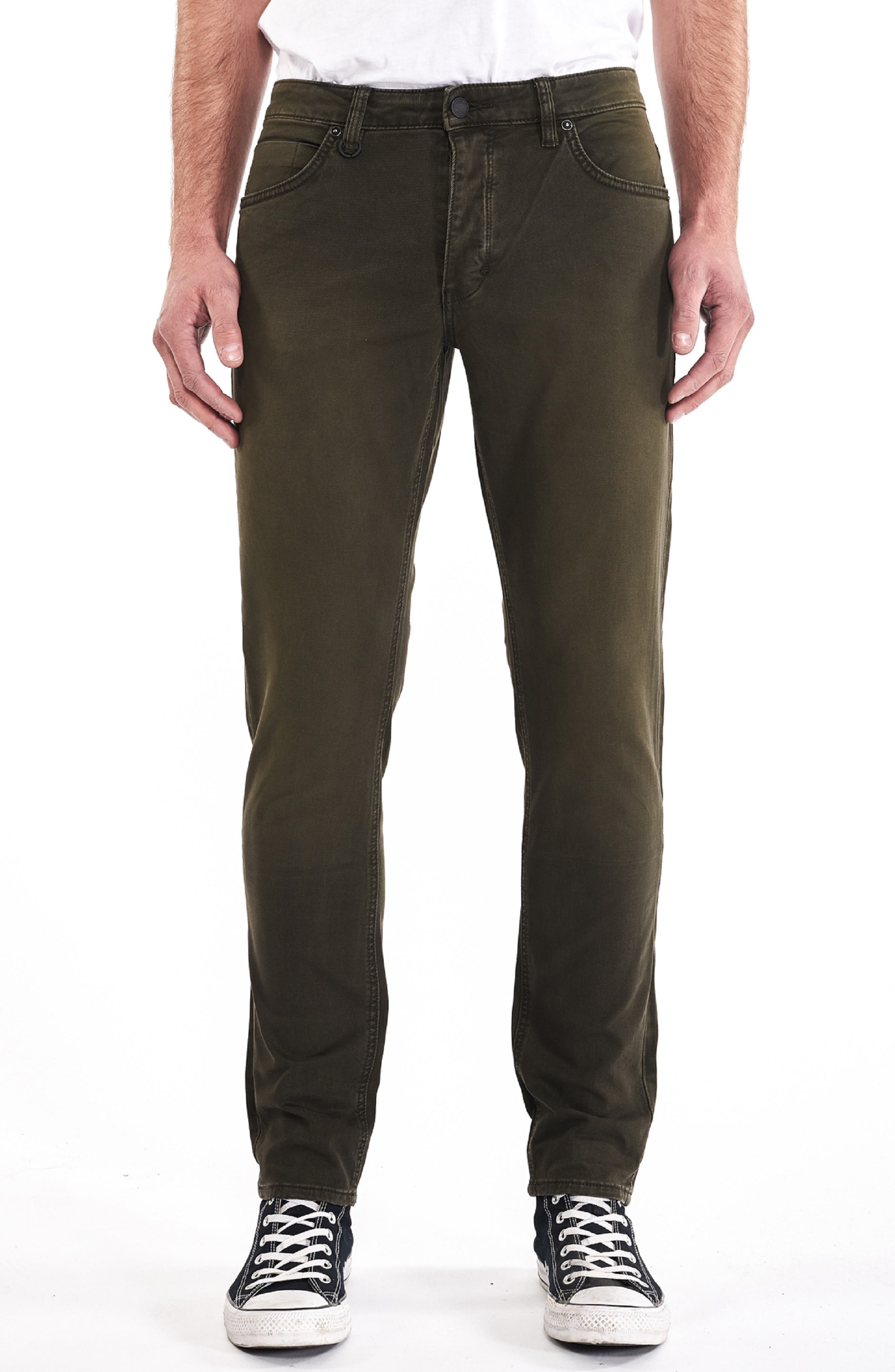Lou Slim Fit Jeans,                         Main,                         color, ARMAGEDDON GREEN