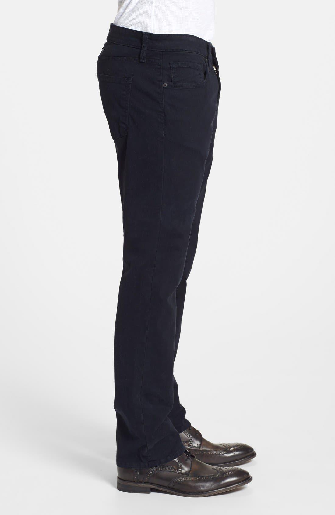 'Kane' Slim Fit Cotton Twill Pants,                             Alternate thumbnail 36, color,